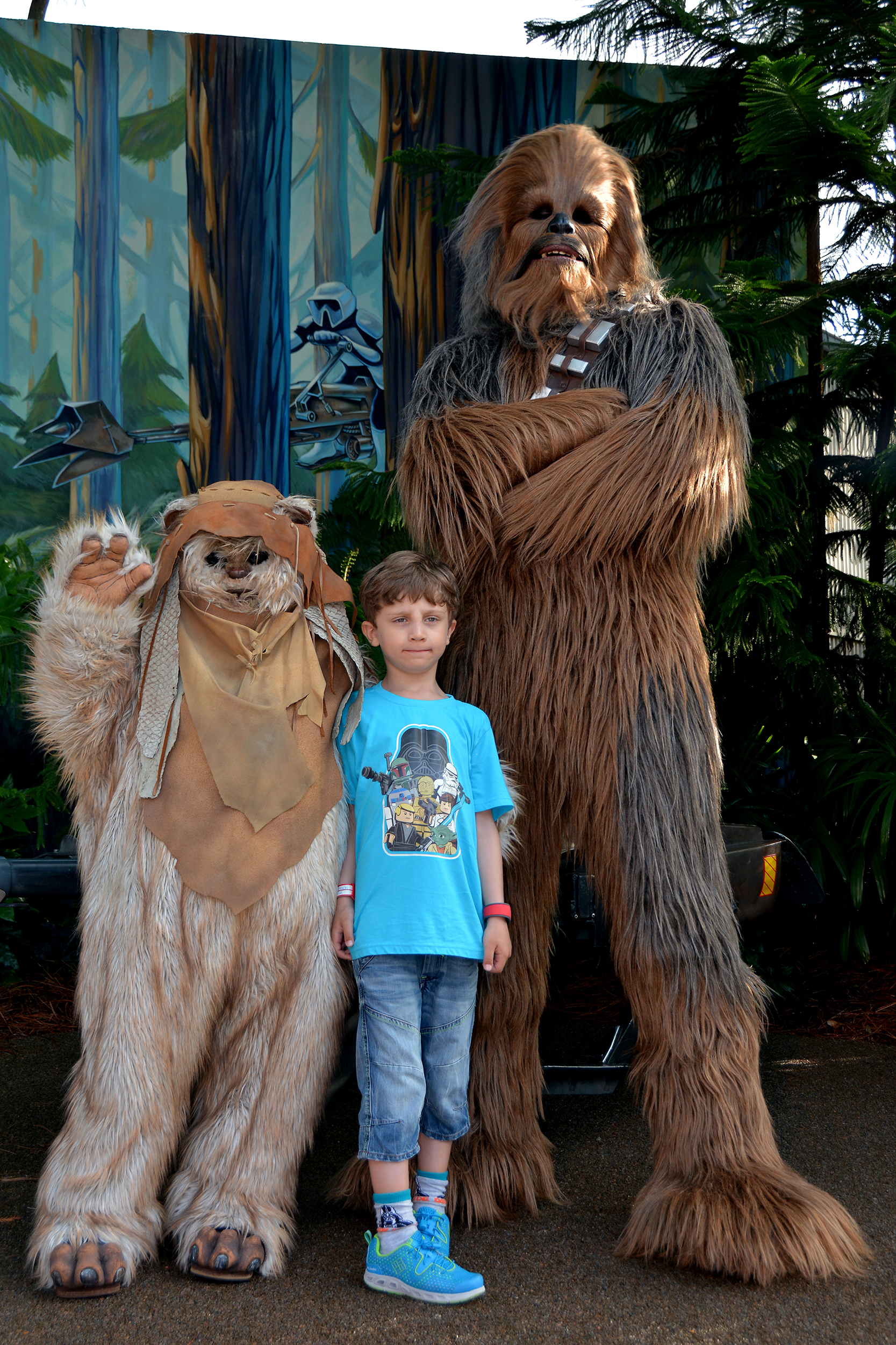 Chewbacca och Wicket W. Warrick.