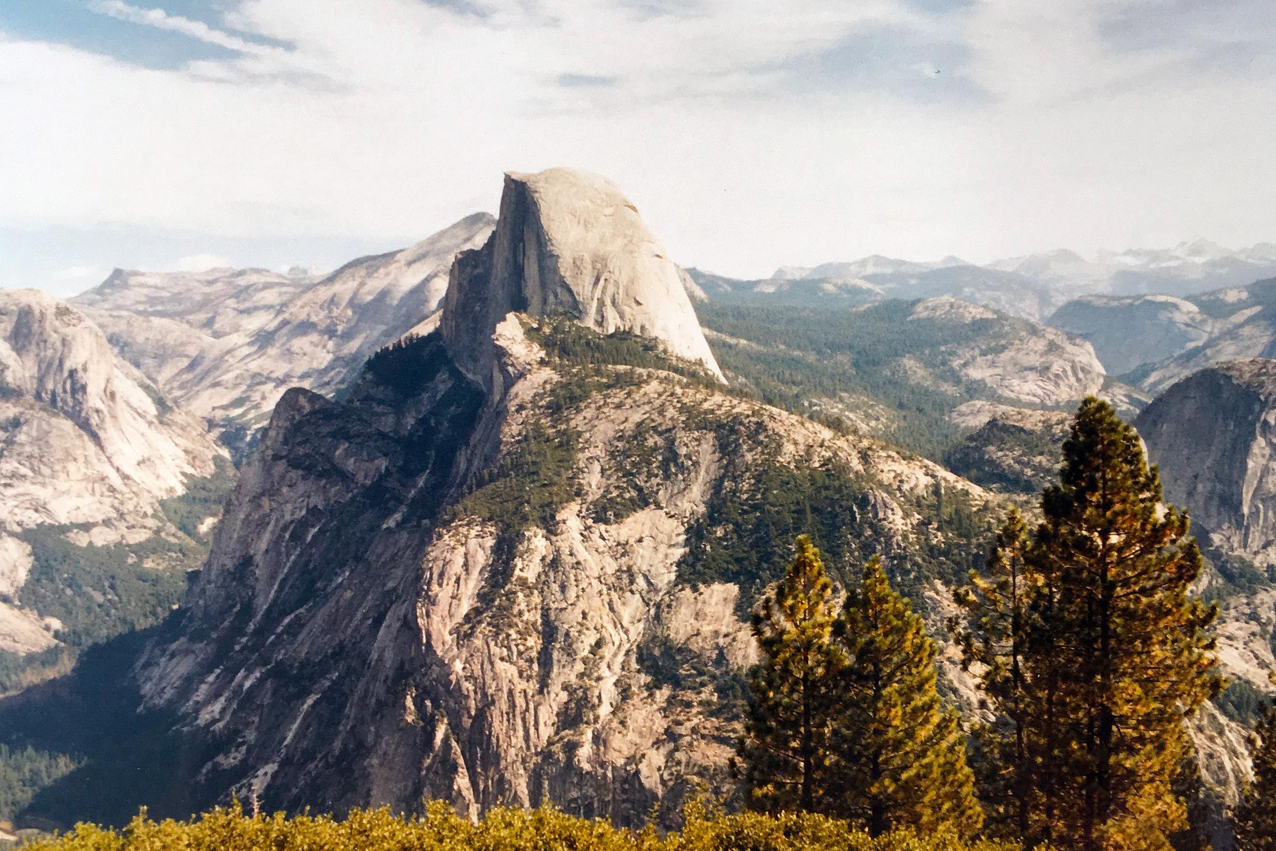 Half dome i Yosemite.