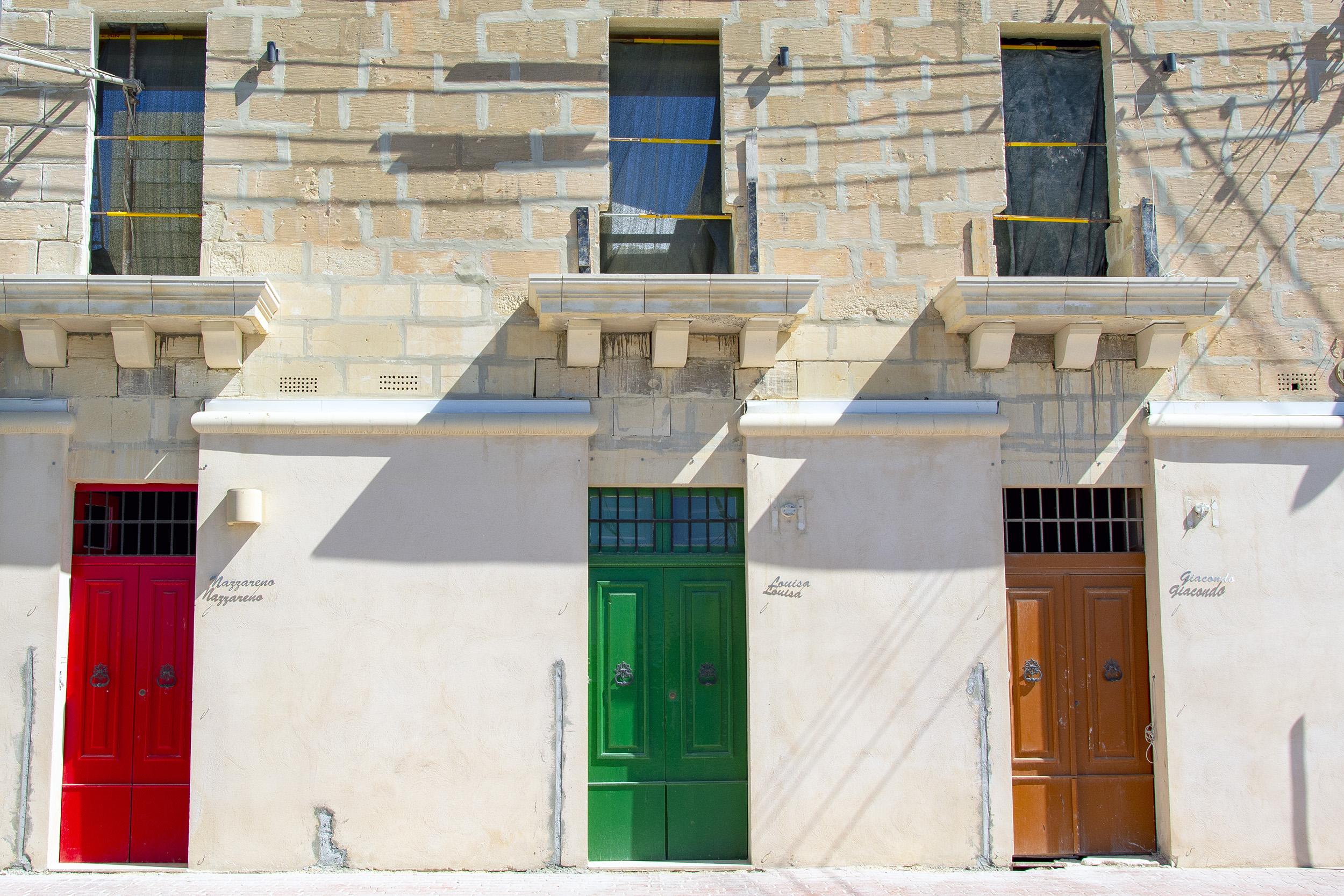 Marsaxlokk Malta Doors