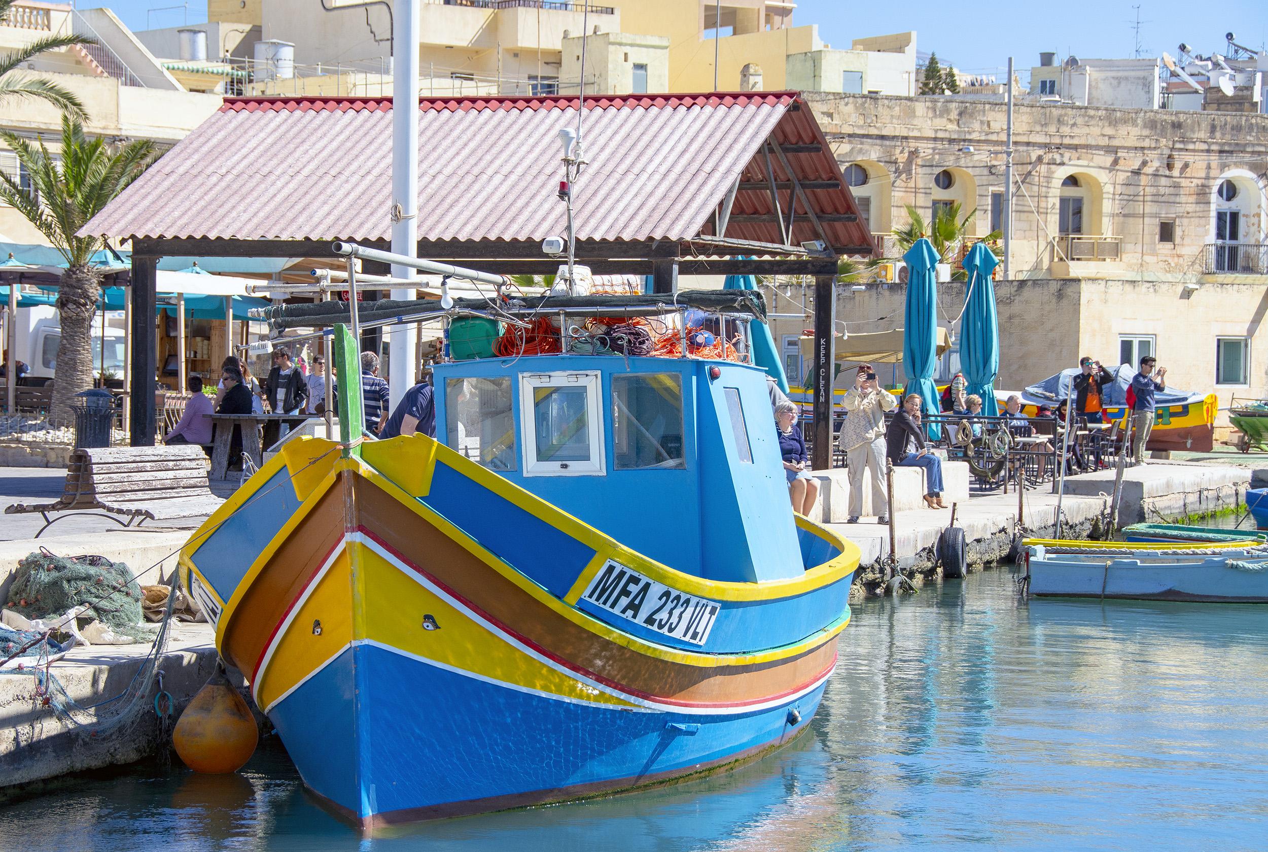 Marsaxlokk Malta Luzzu