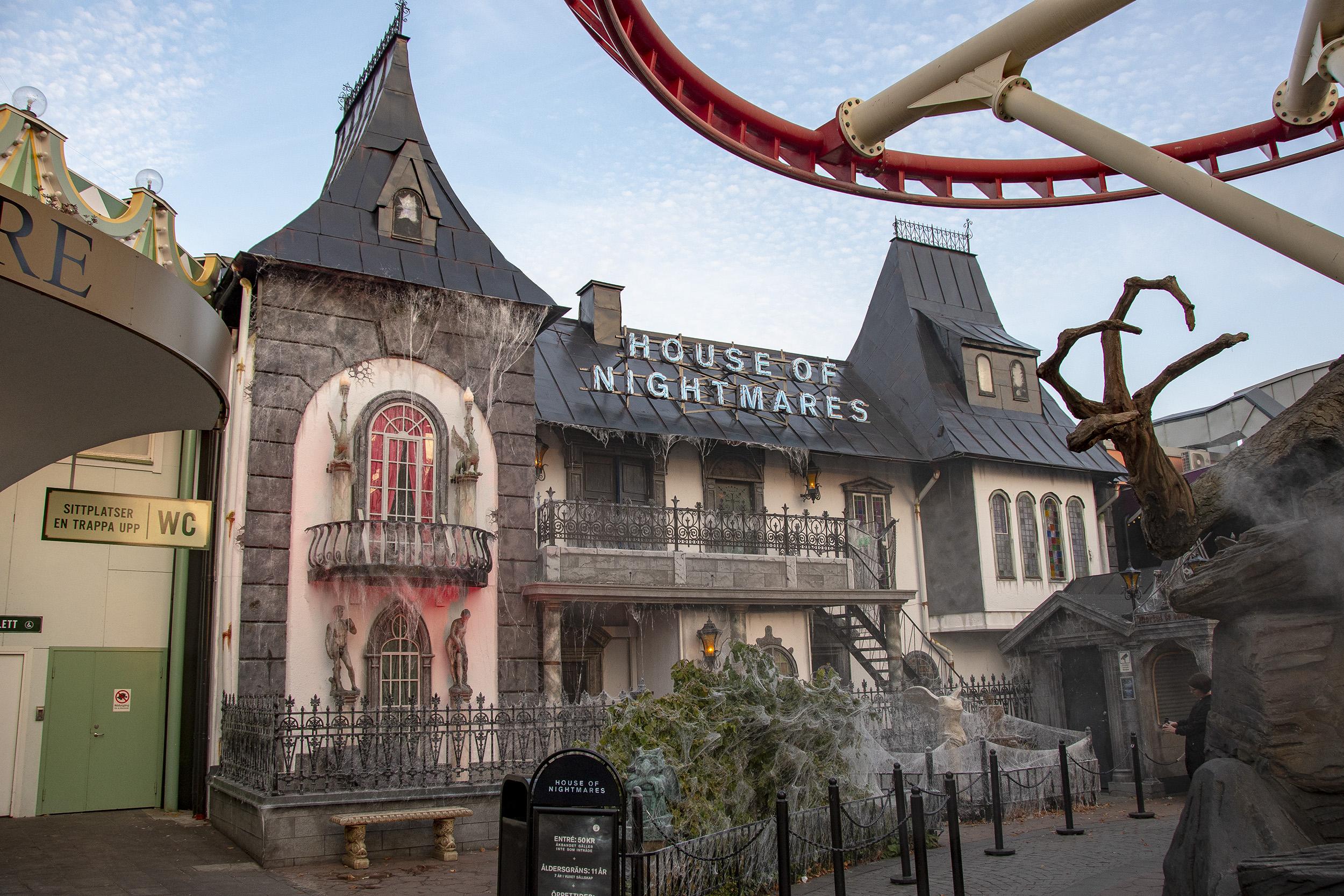 Halloween på Gröna Lund House of even worse nightmares