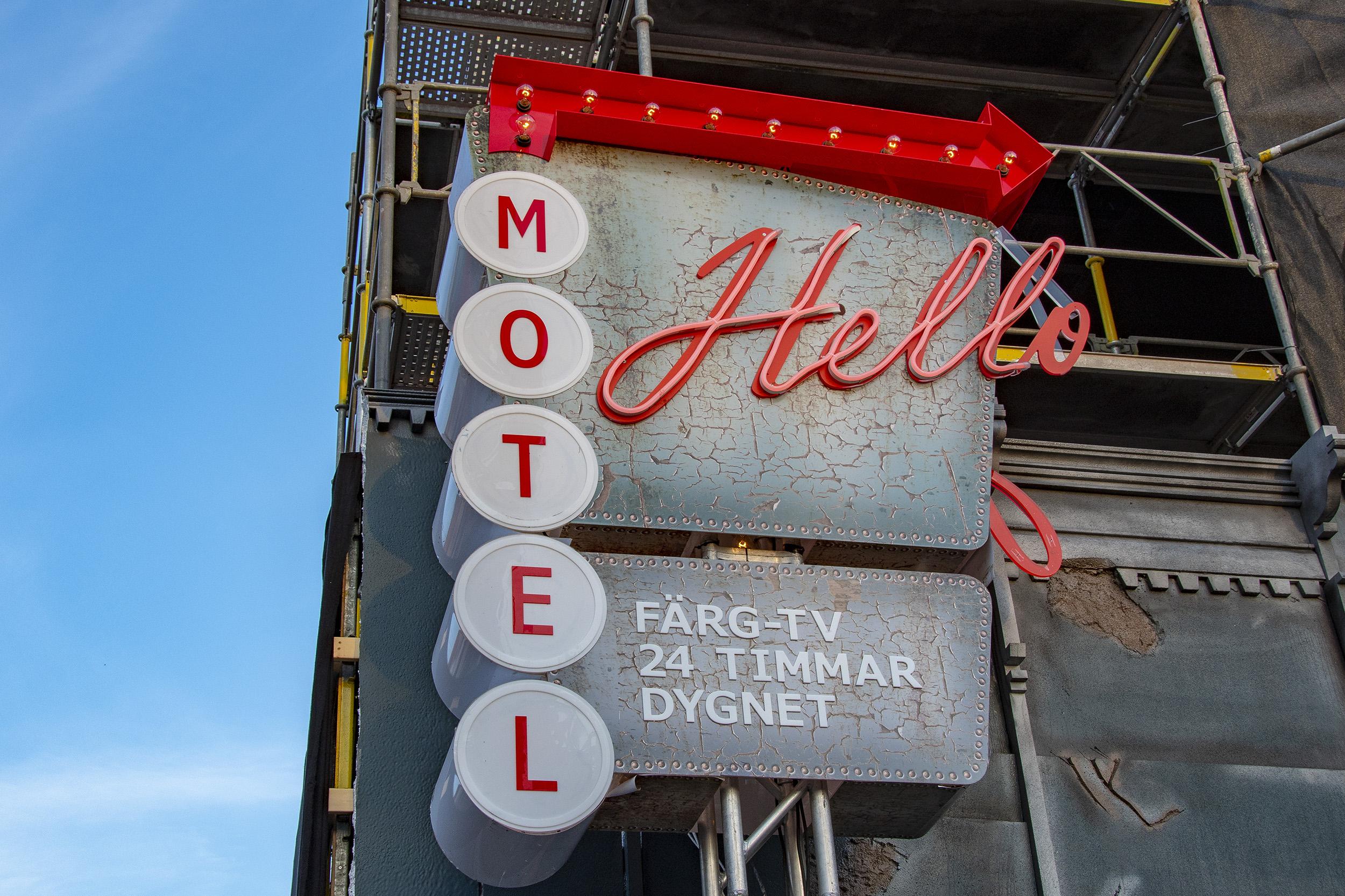 Halloween på Gröna Lund Motel Hell
