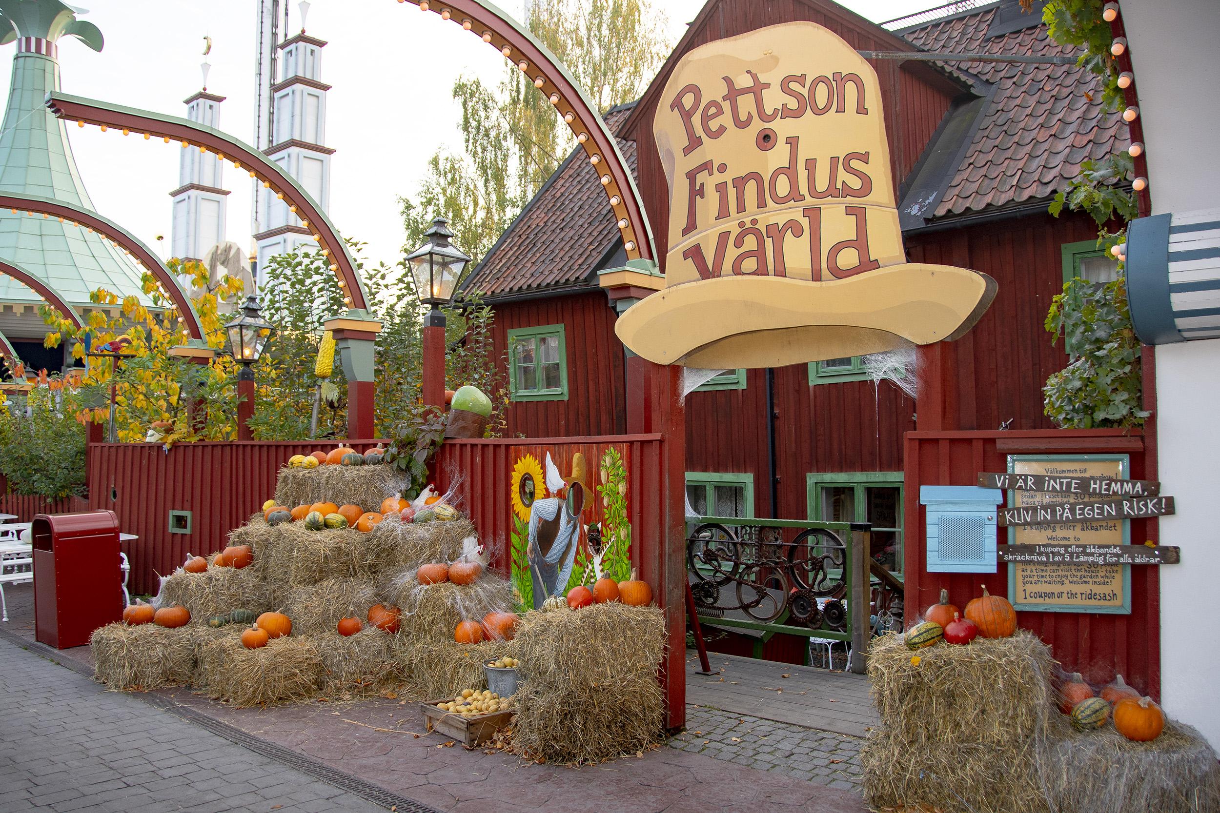 Halloween på Gröna Lund, Pettson o Findus spökhus