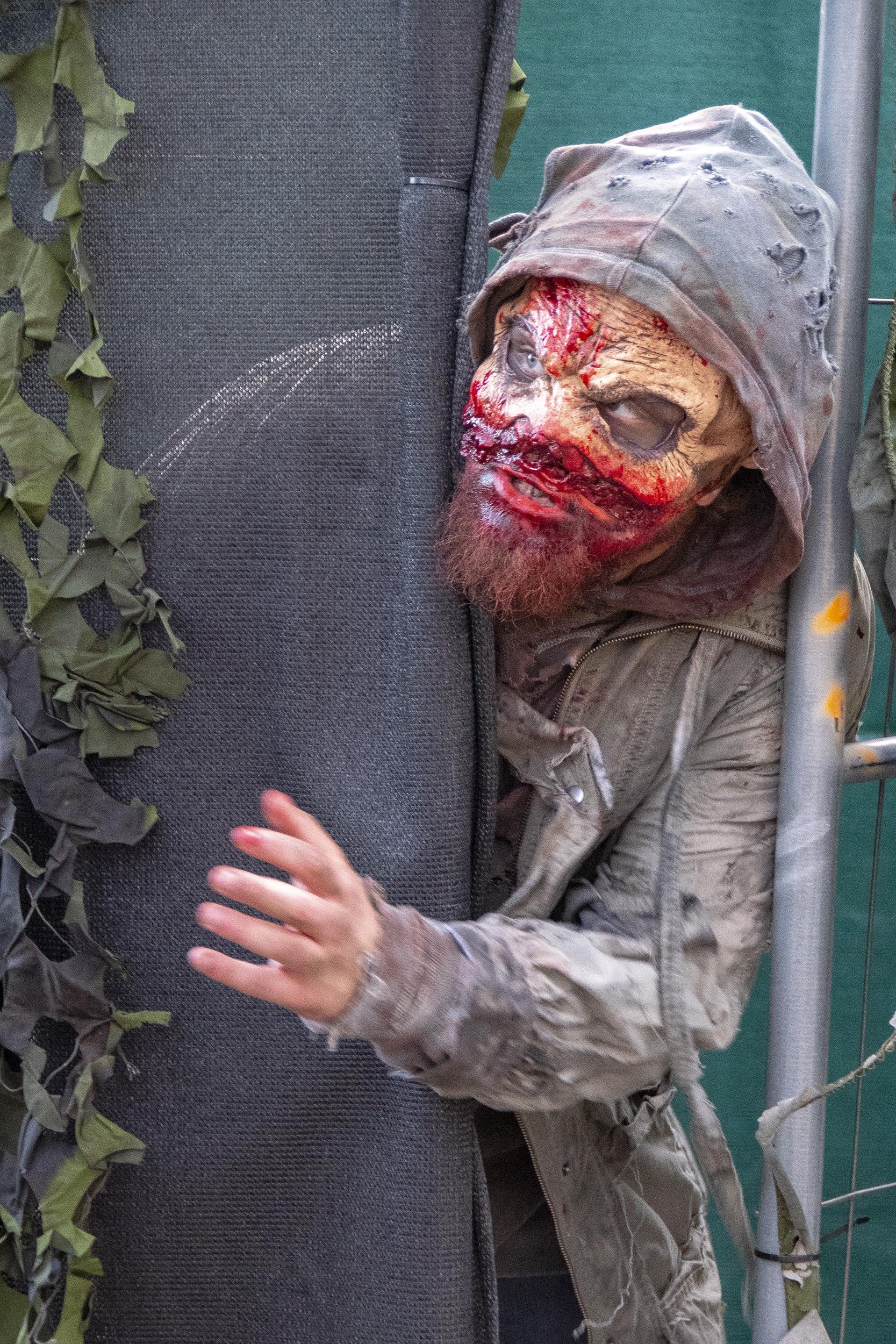 Halloween på Gröna Lund Zombie Zone