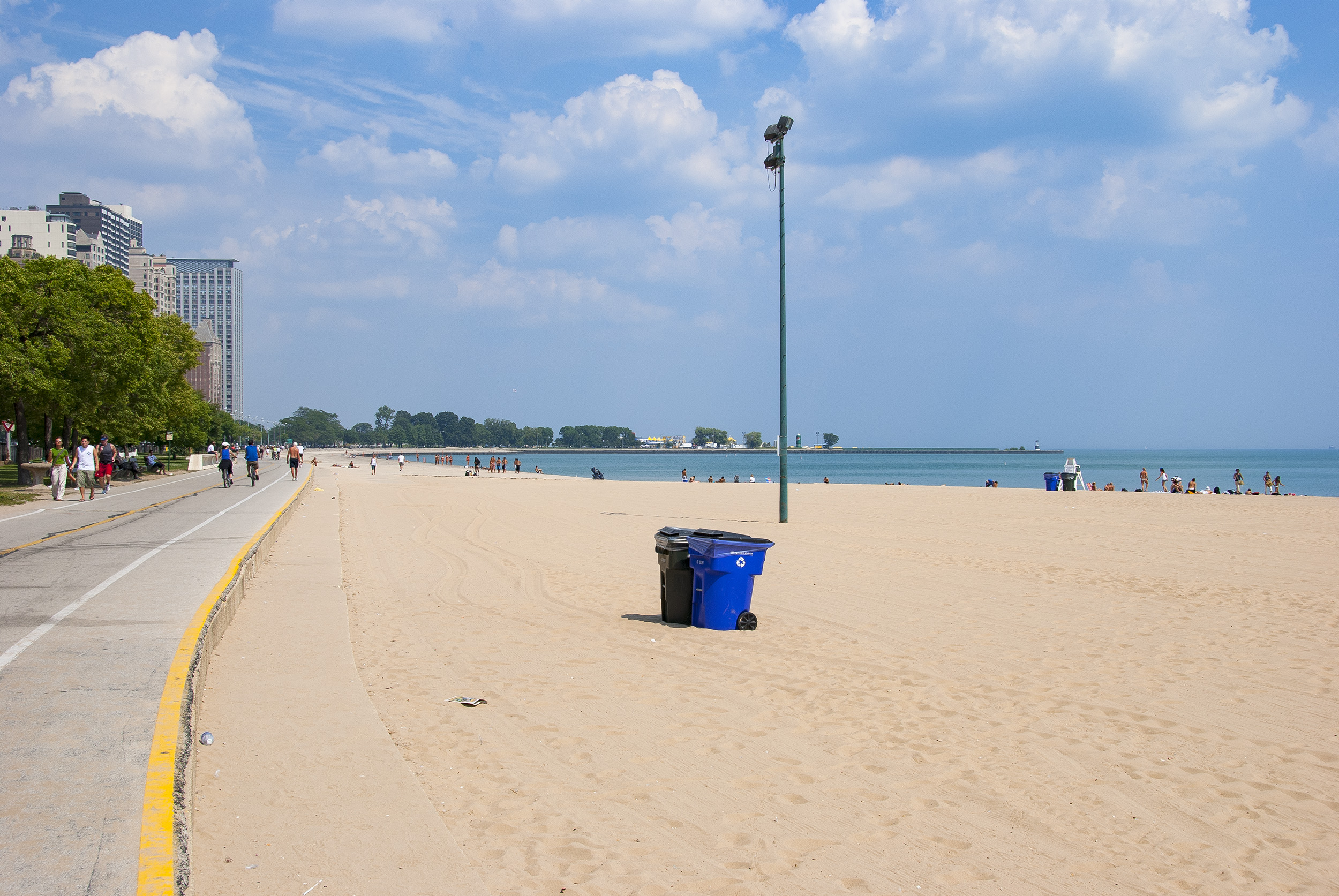 Chicago Oak Street Beach