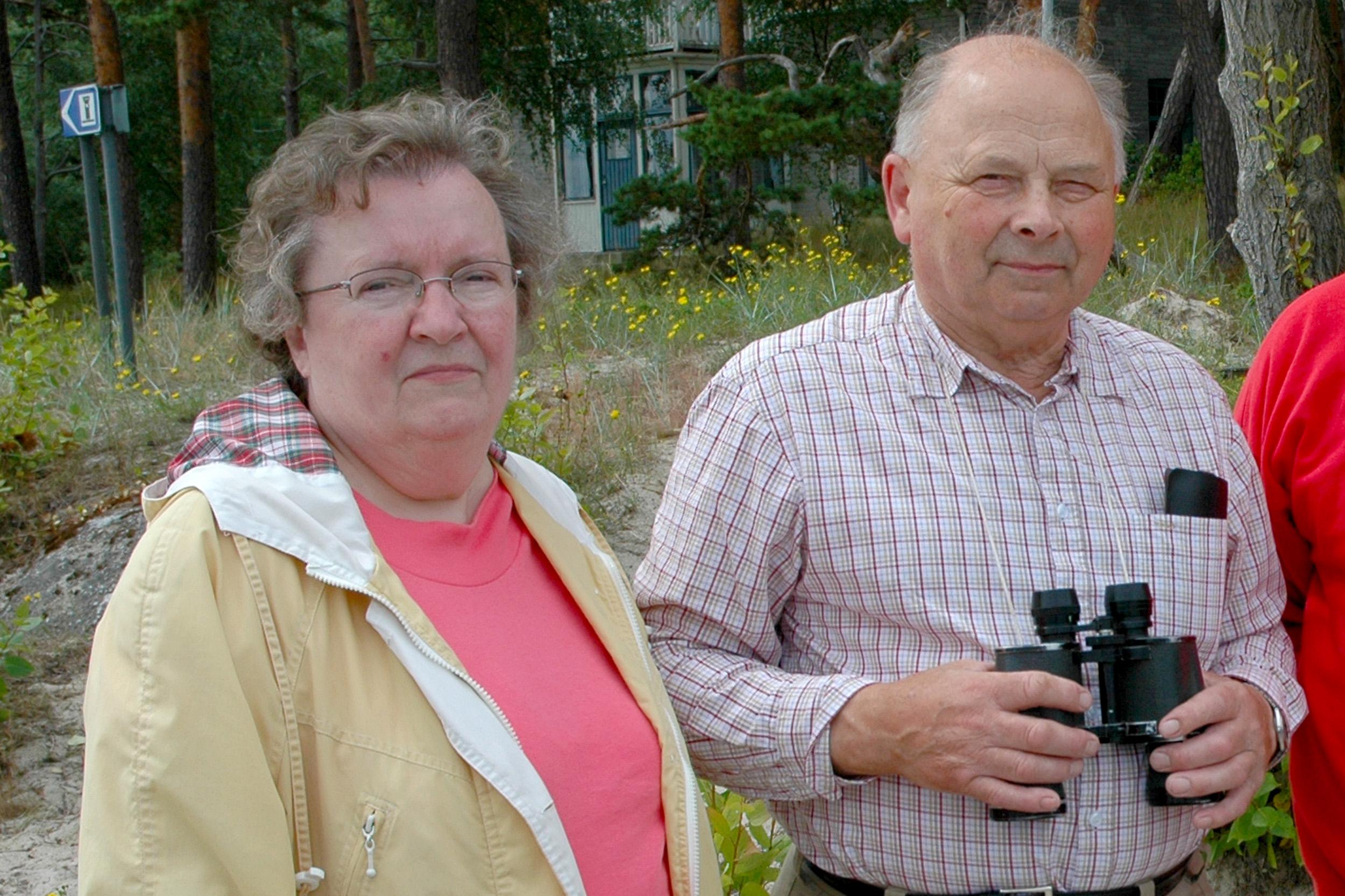 Mamma och pappa i Åhus