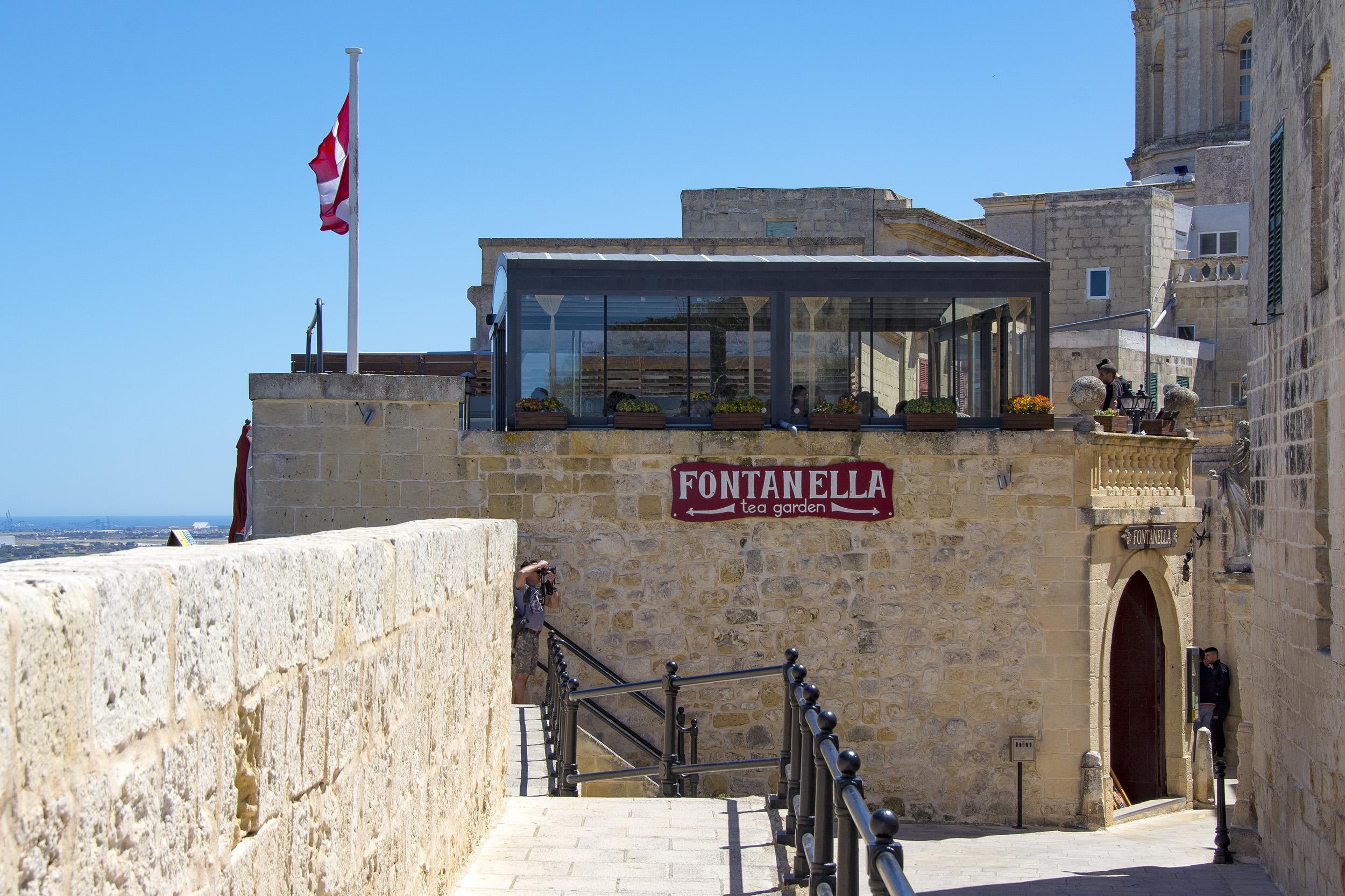 Fontanella Tea Garden Mdina Malta