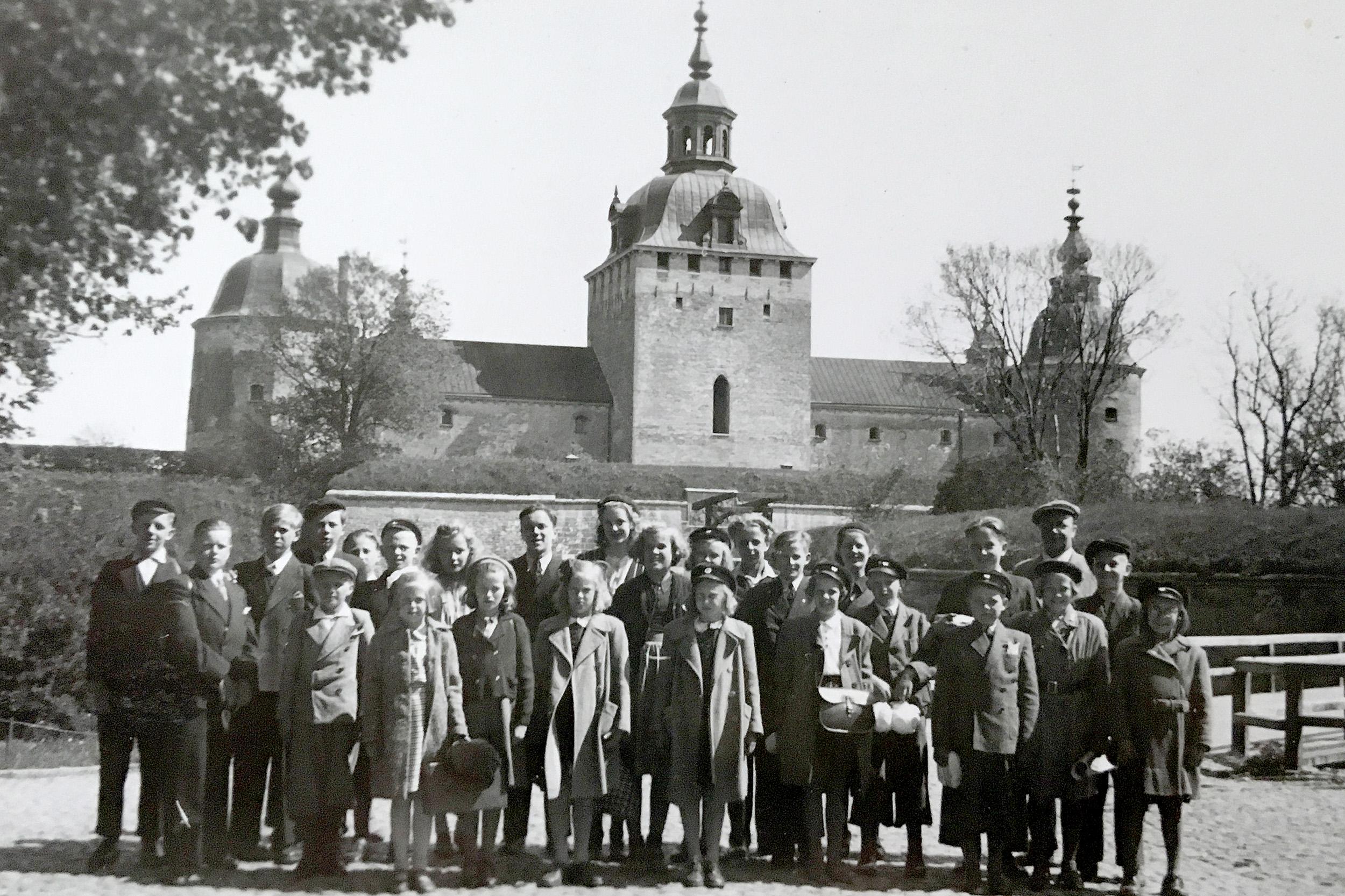 Pappa skolresa kalmar slott 1944
