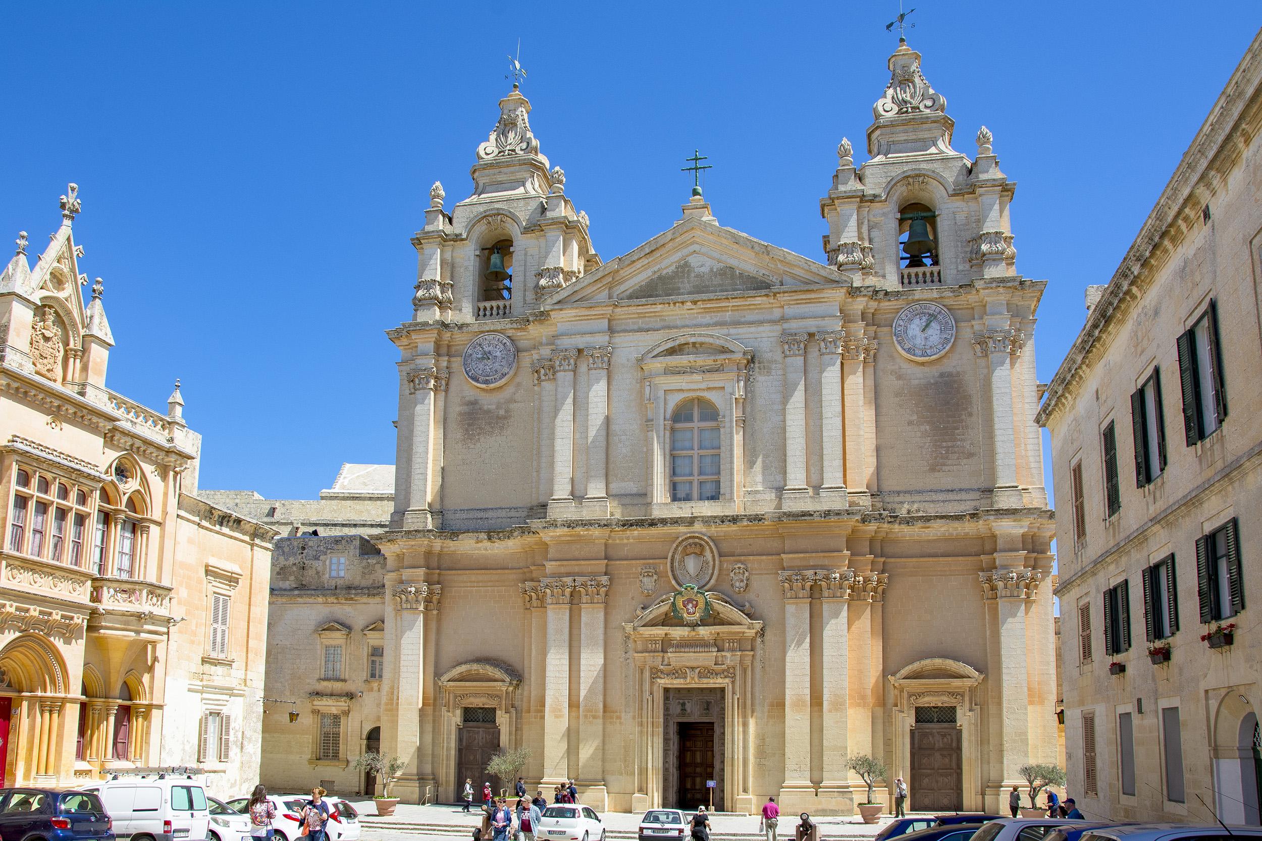 St Pauls Cathedral Mdina Malta