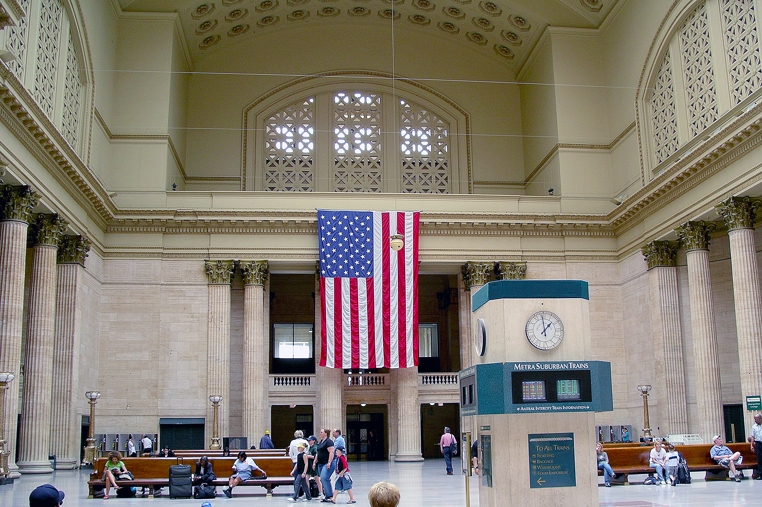 Union Station Chicago Amtrak