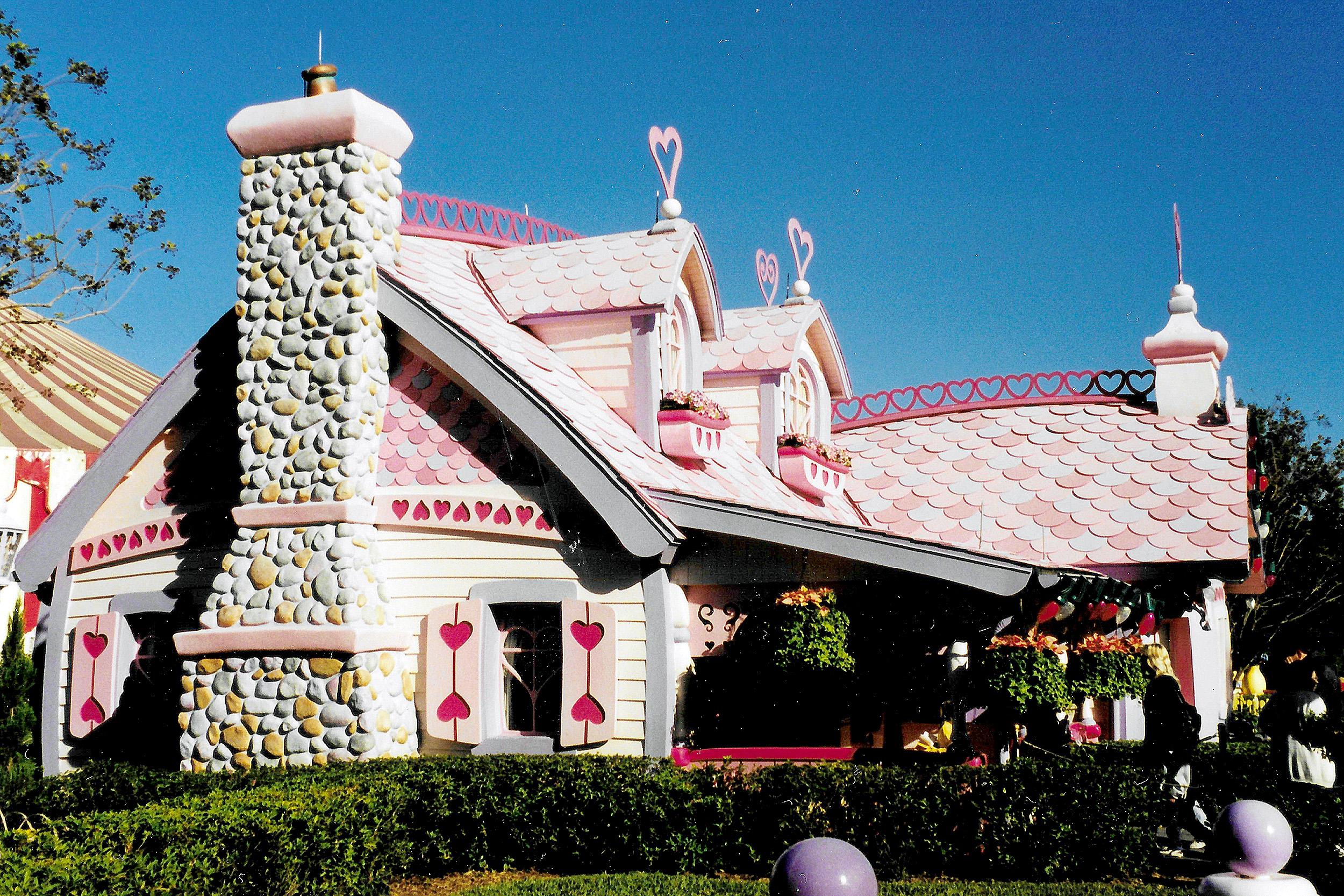 Mimmis hus toontown magic kingdom orlando nyårsafton