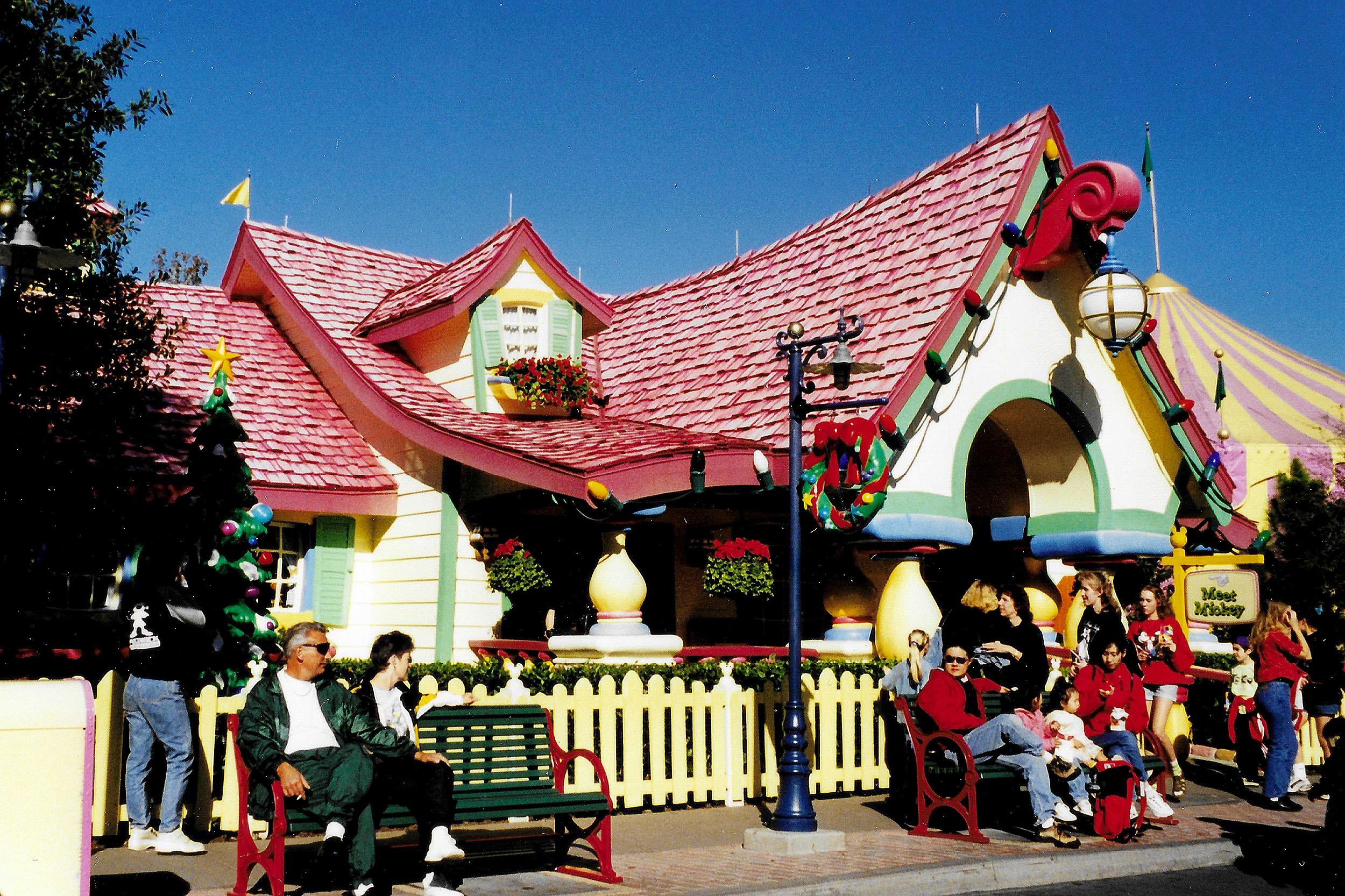 Musses Hus magic Kingdom Orlando Florida Nyårsafton