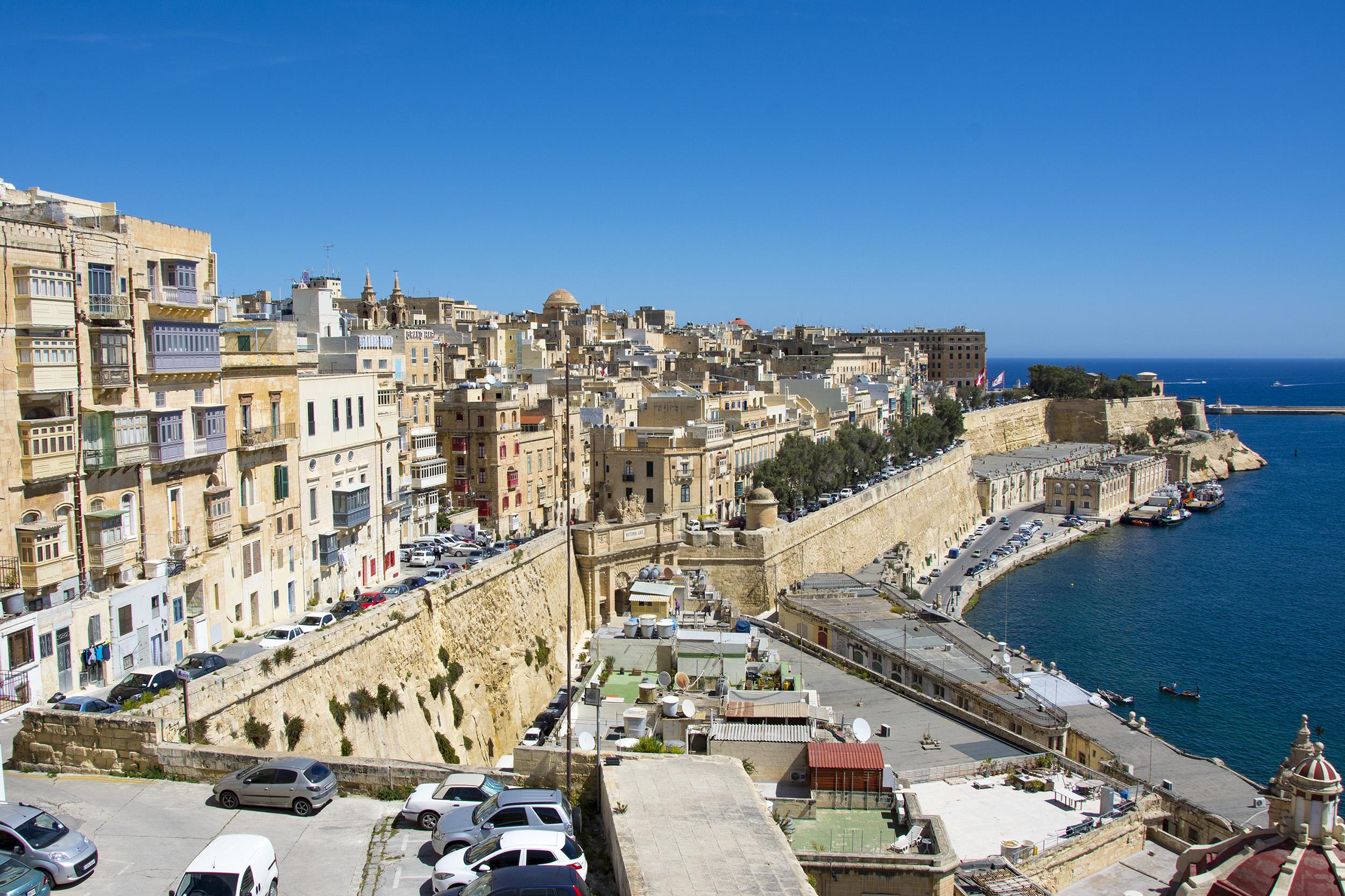 Valletta, Malta tillbakablick på resorna under 2018