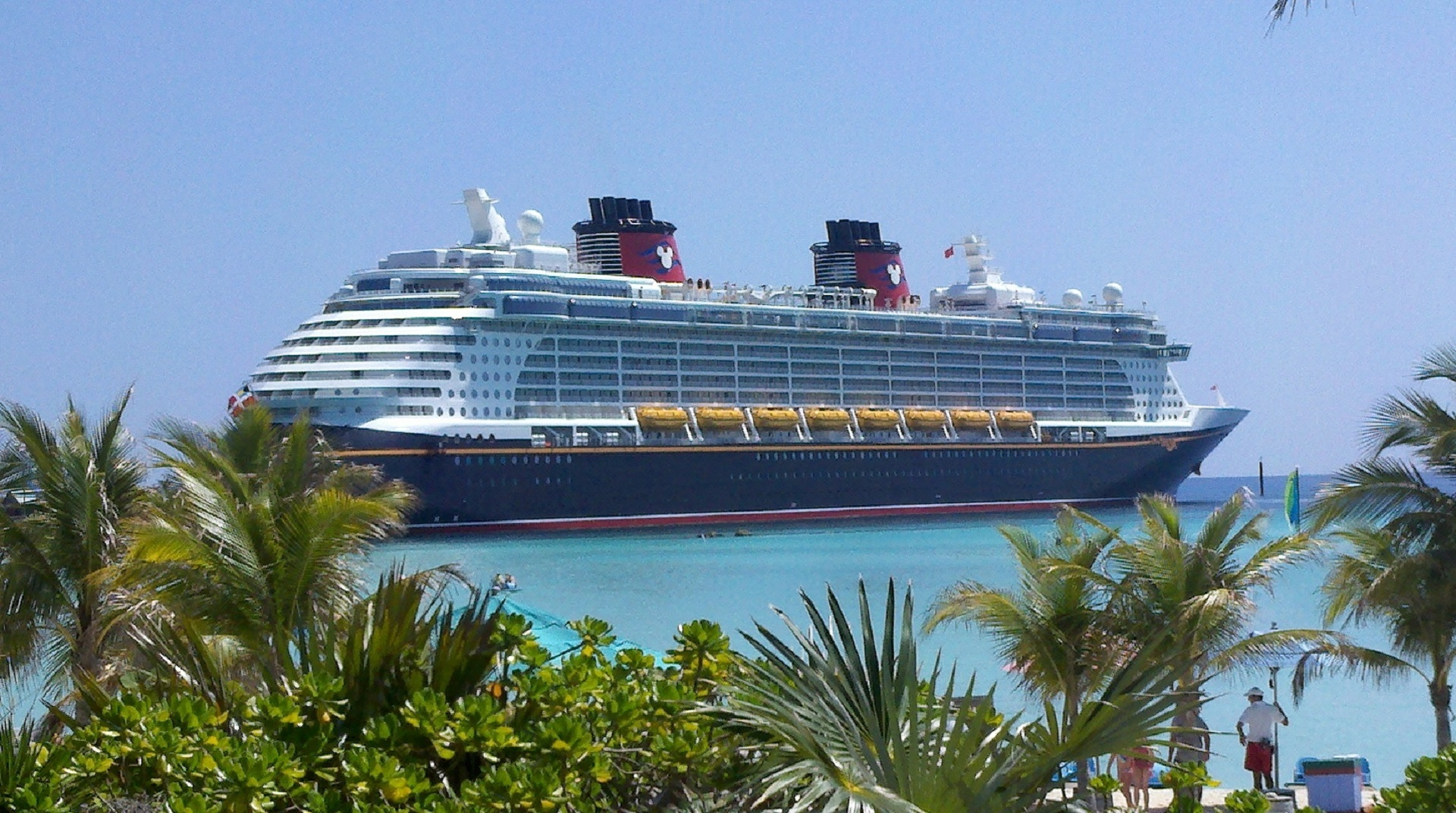 Disney cruise ship Resplaner inför 2019