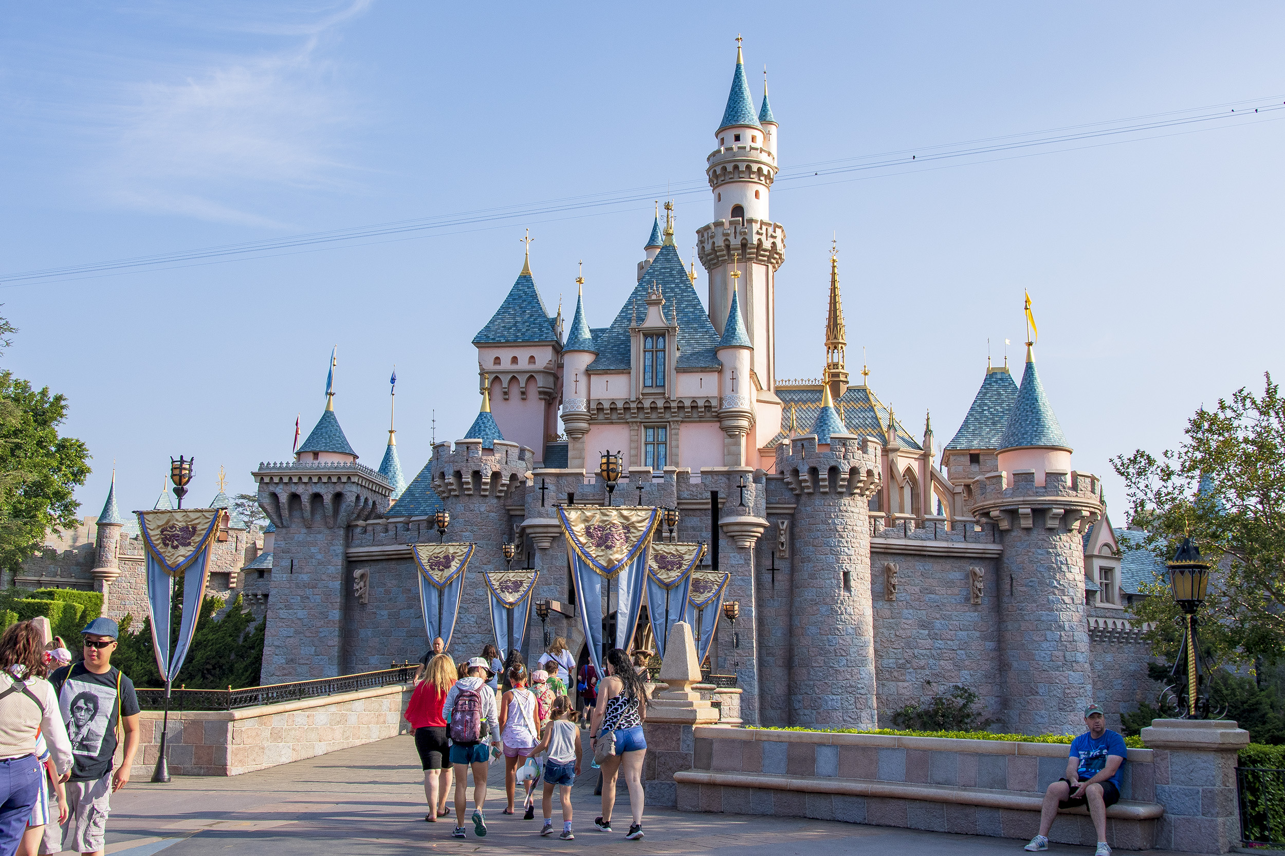 Sleeping Beauty Castle Disneyland kalifornien