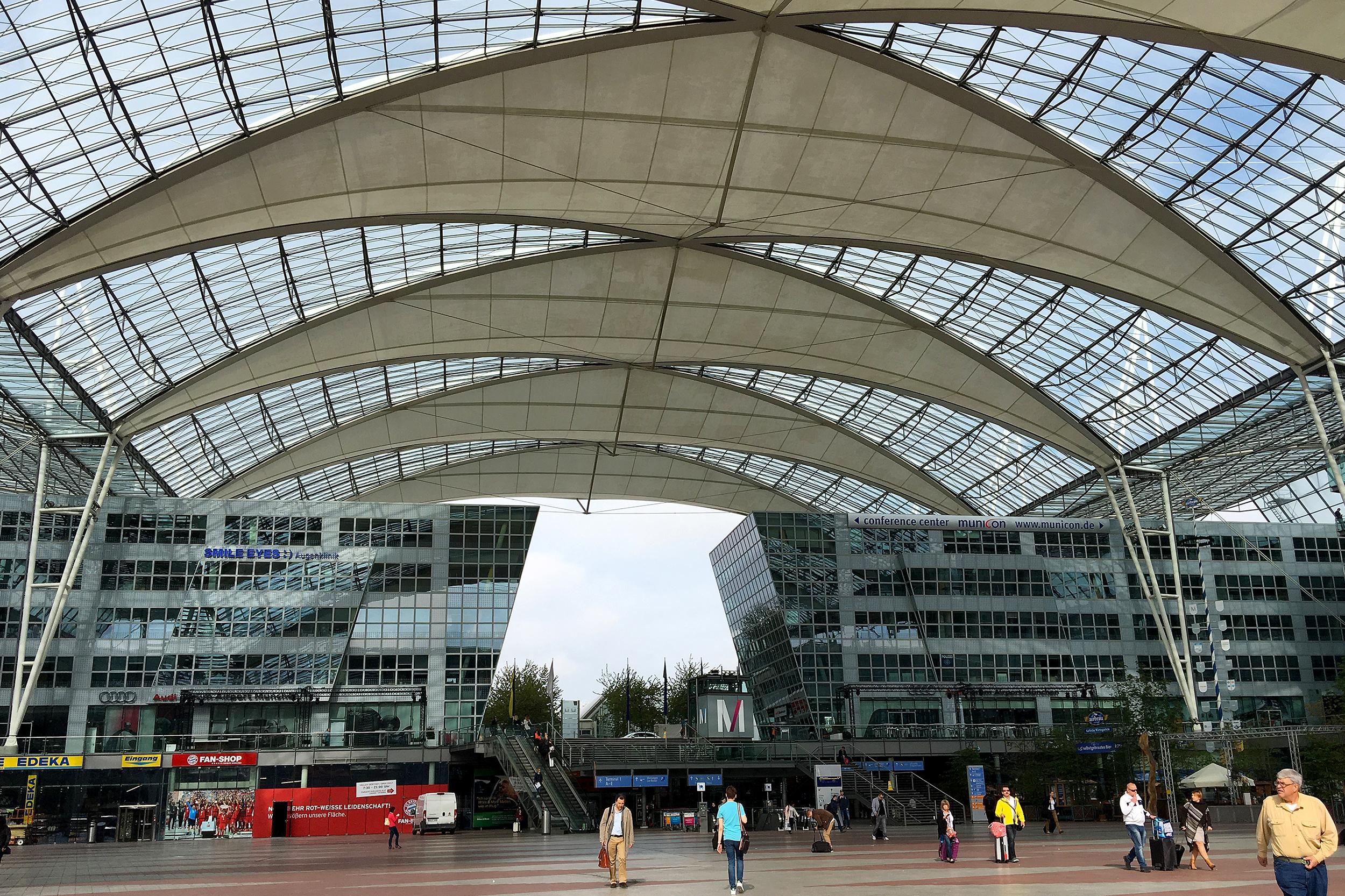 Munich Airport Flygplats