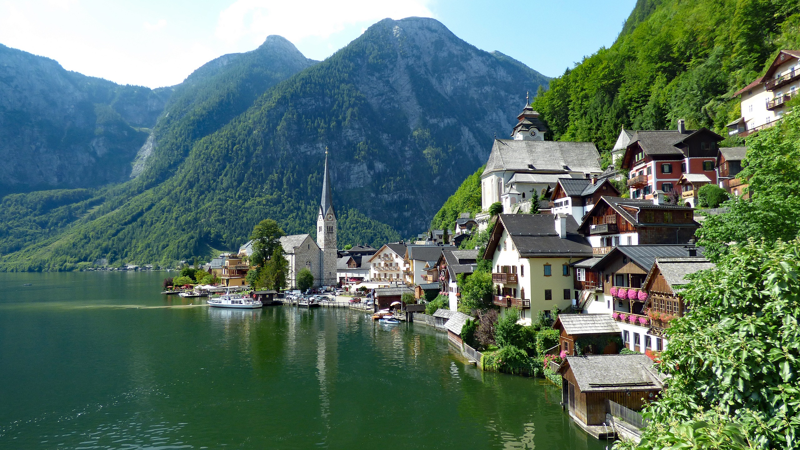 Hallstatt Österrike