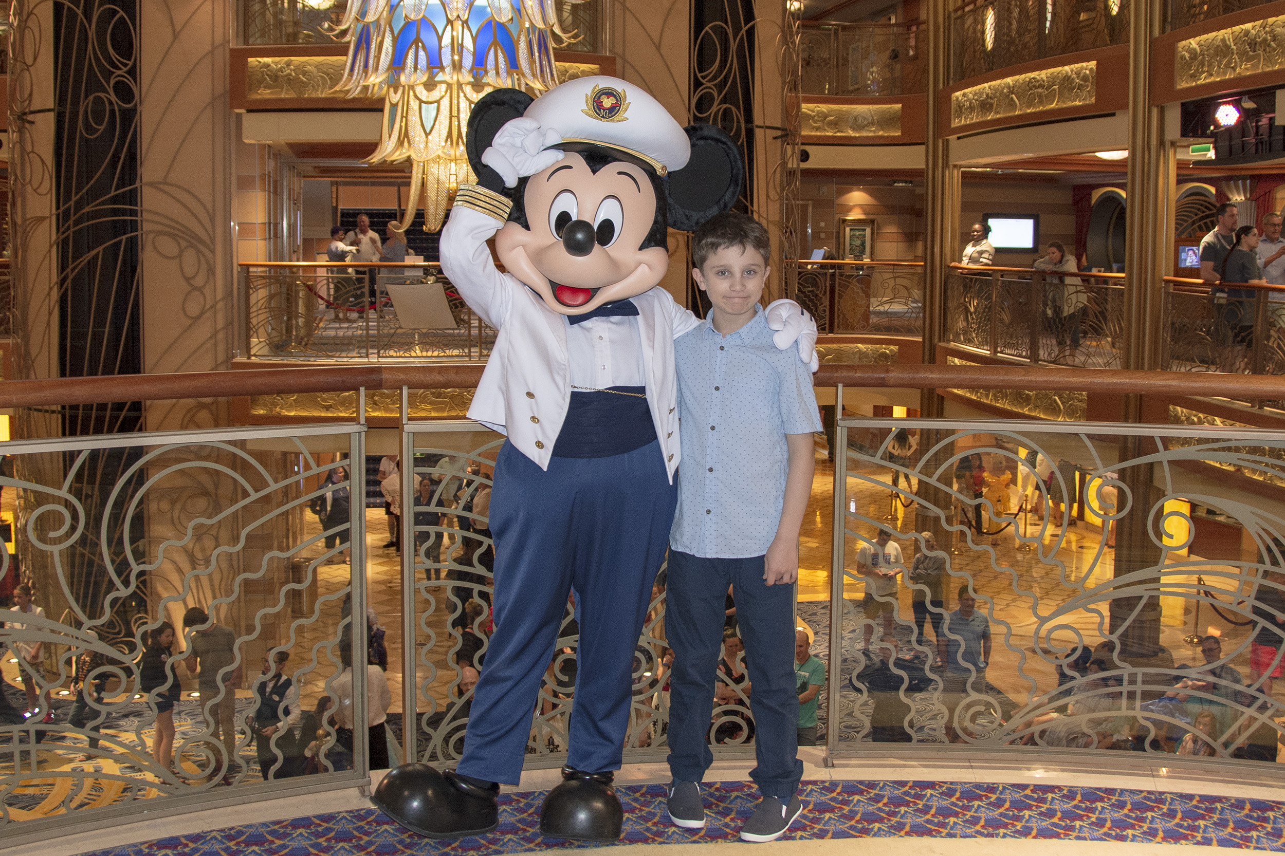Disney Dream Captain Mickey Mouse