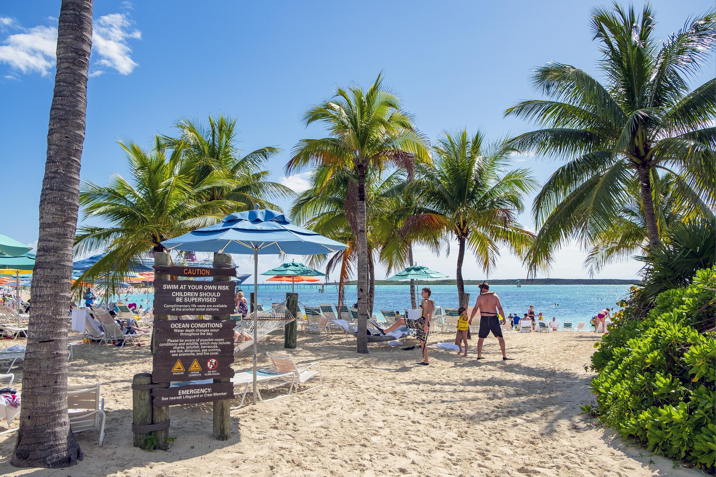 Castaway Cay Strand Bahamas