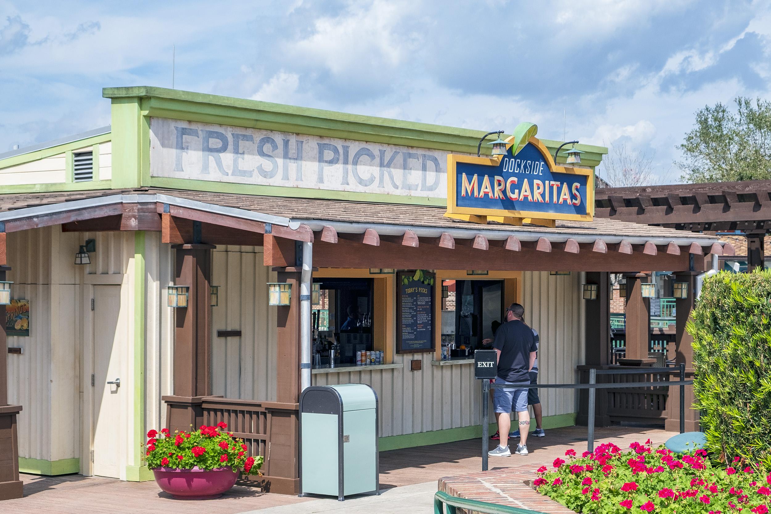 Disney Springs Dockside Margaritas