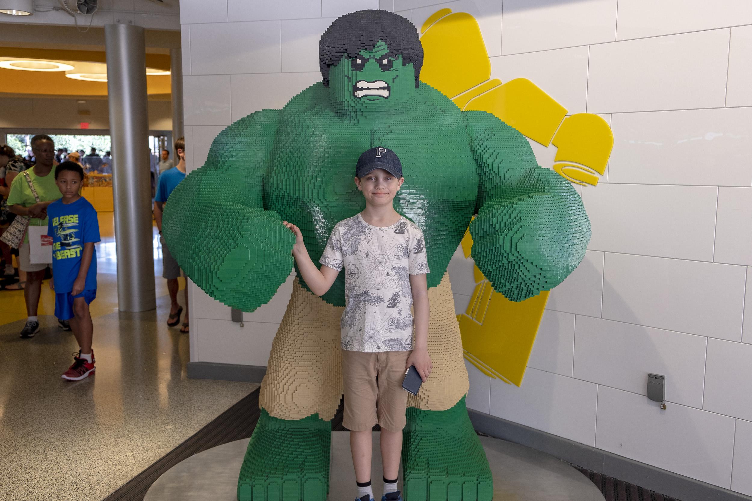 Disney Springs Lego Hulken