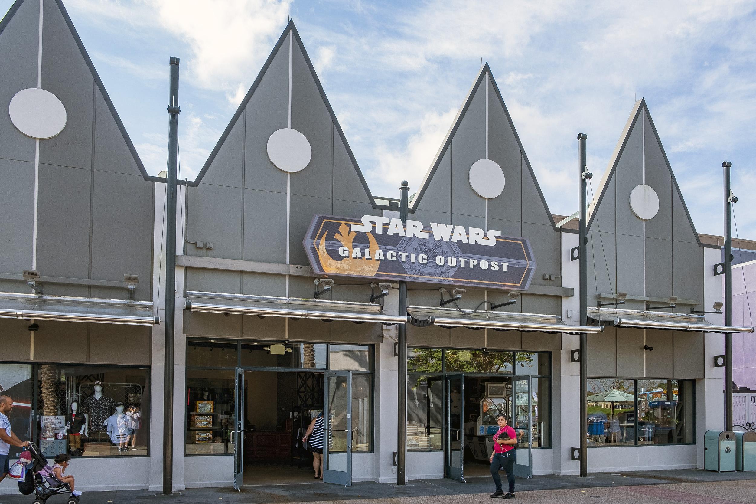 Disney Springs Star Wars Galactic Outpost