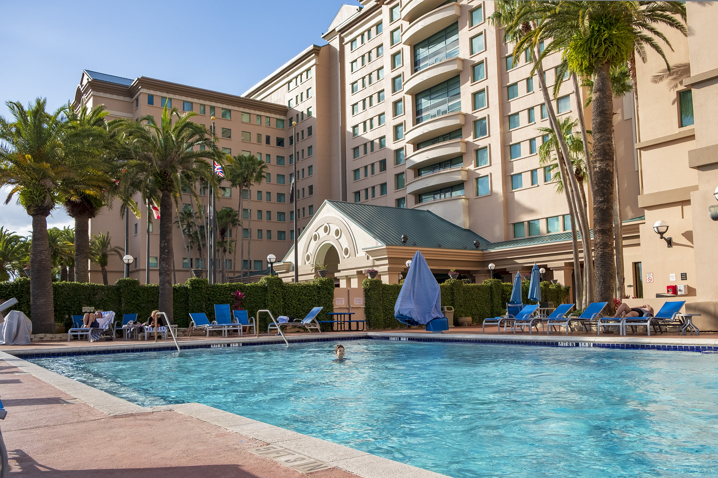Florida Hotel & Conference Center Orlando Pool