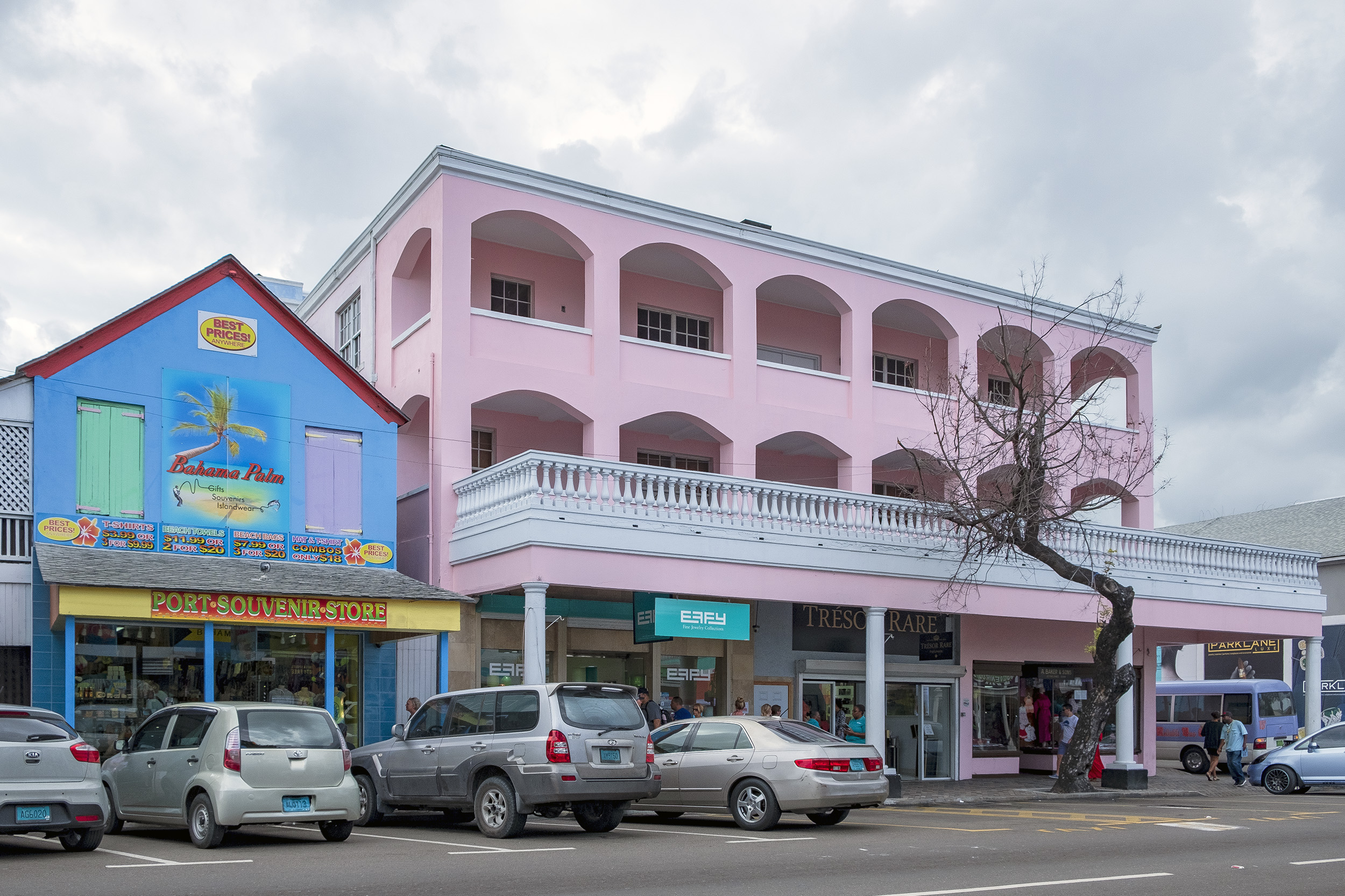 Bay Street Nassau Bahamas
