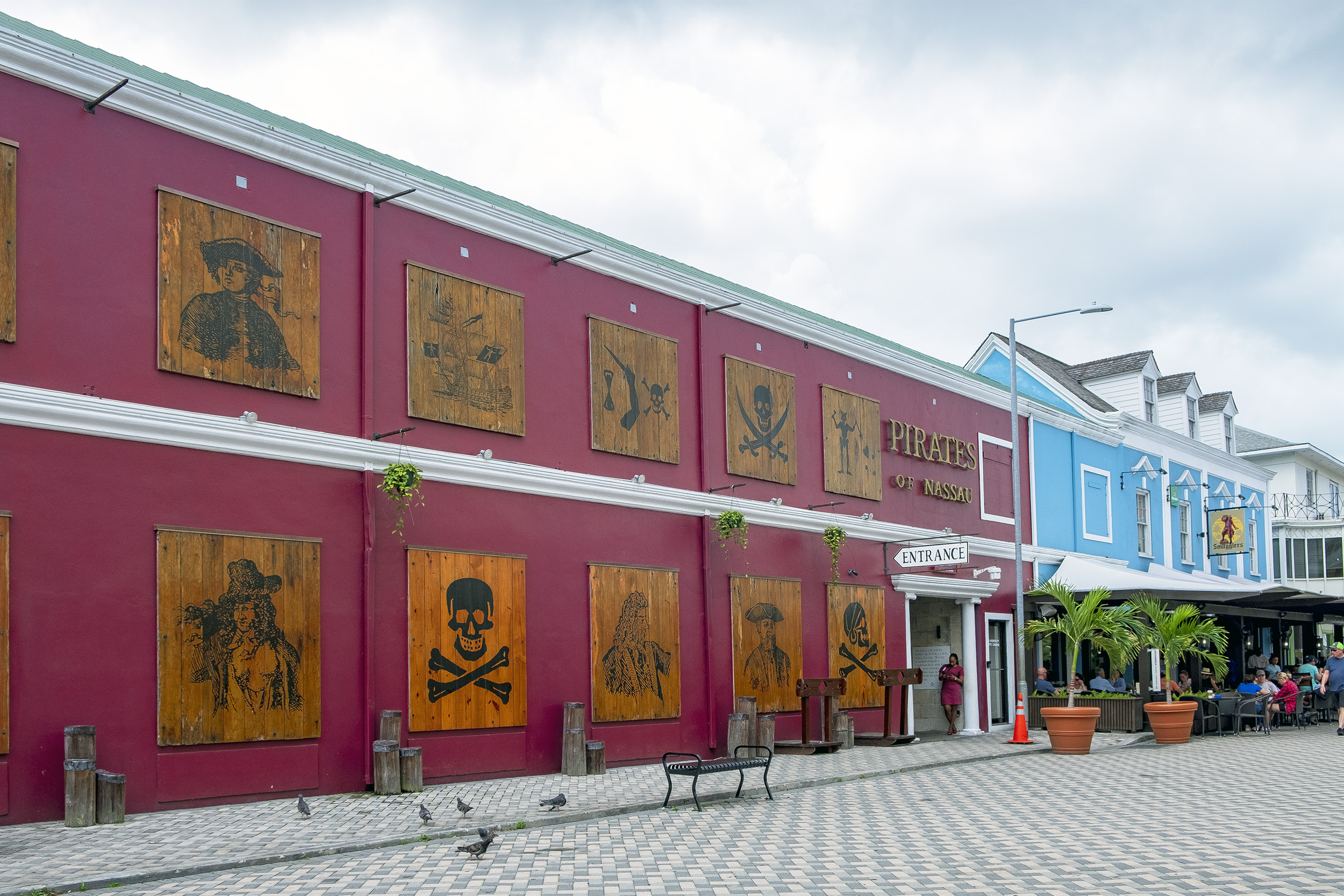 Pirates of Nassau Bahamas Piratmuseum