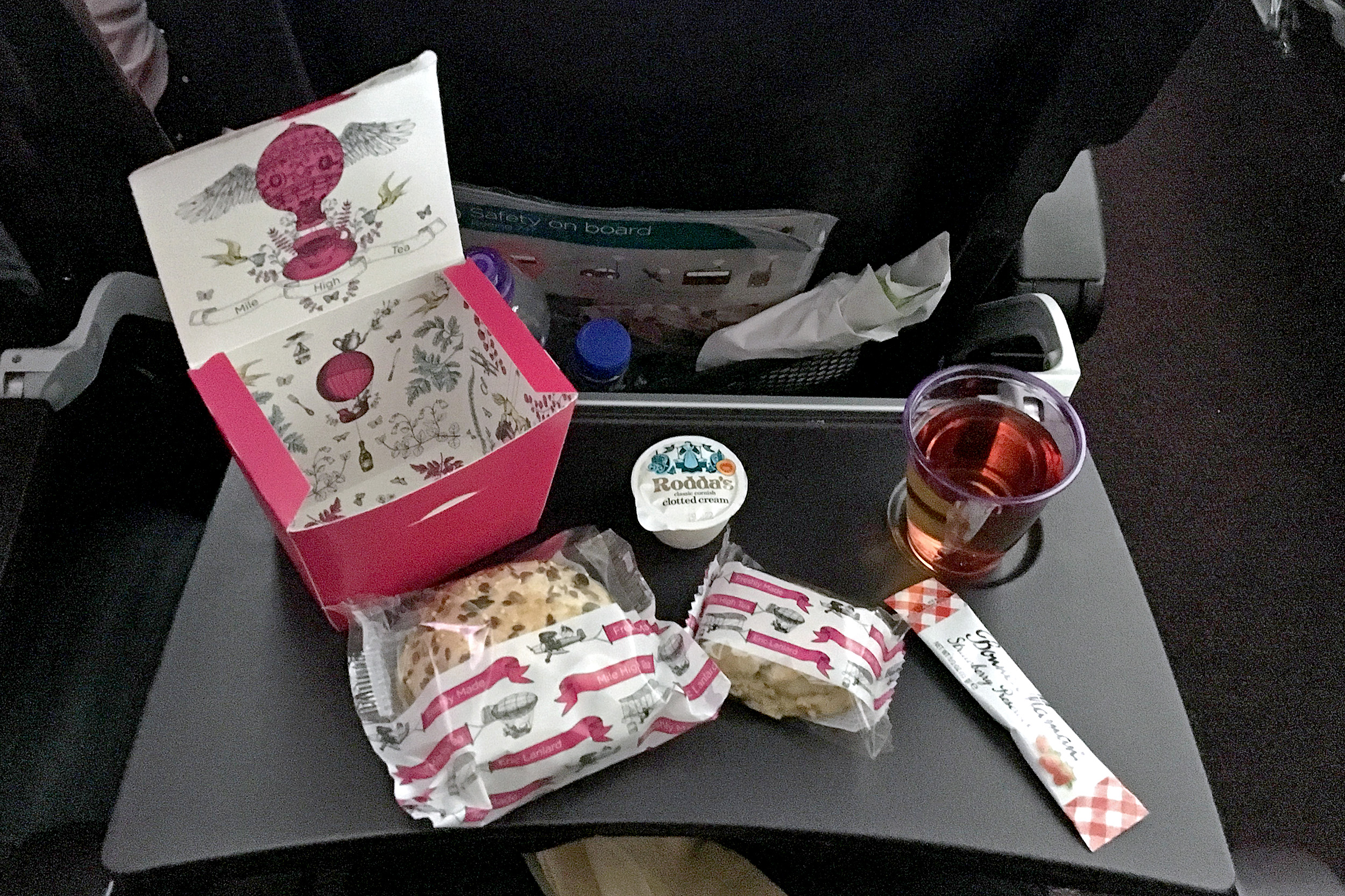 Virgin Atlantic Frukost