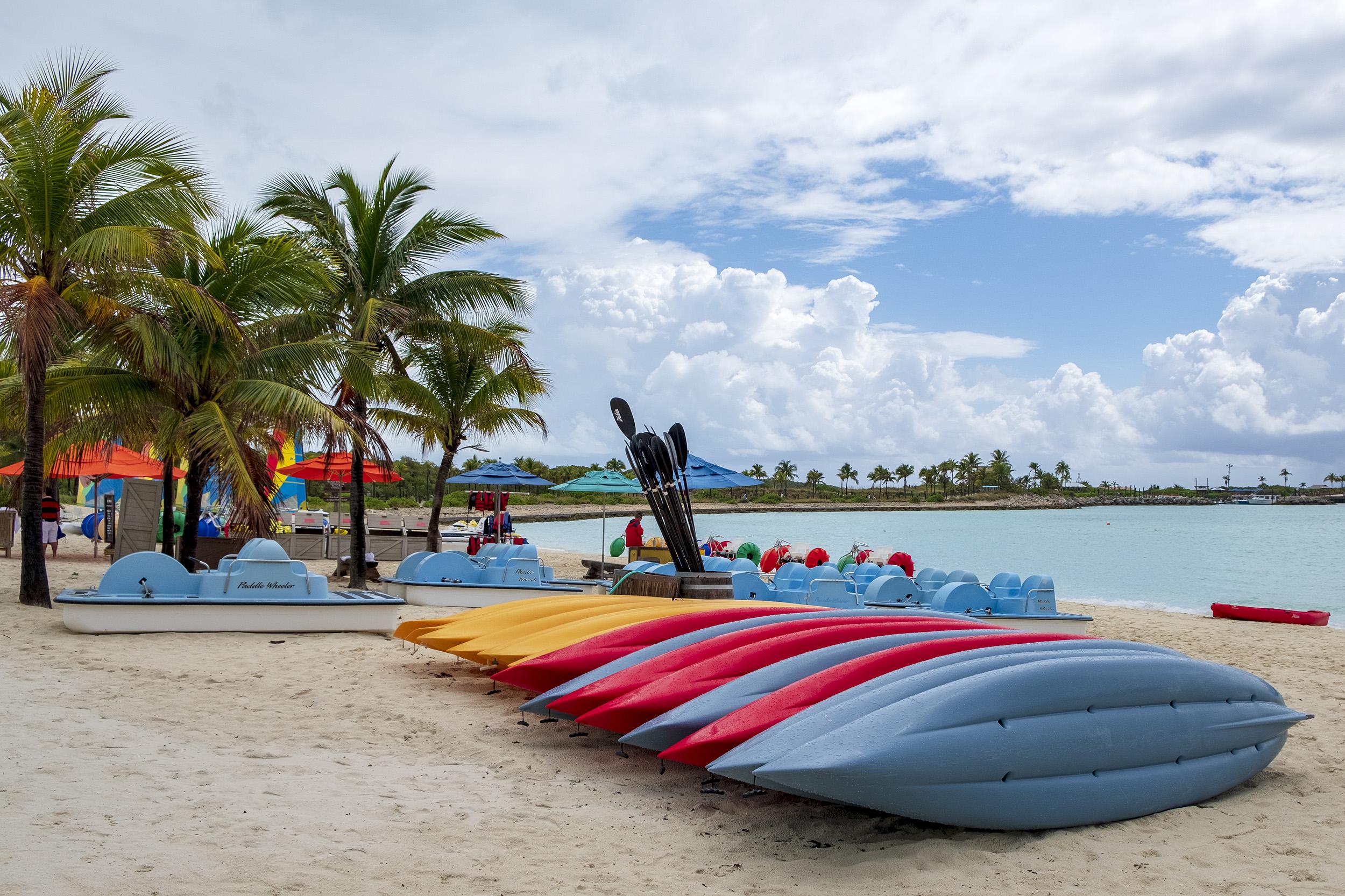 Castaway Cay Kajaker