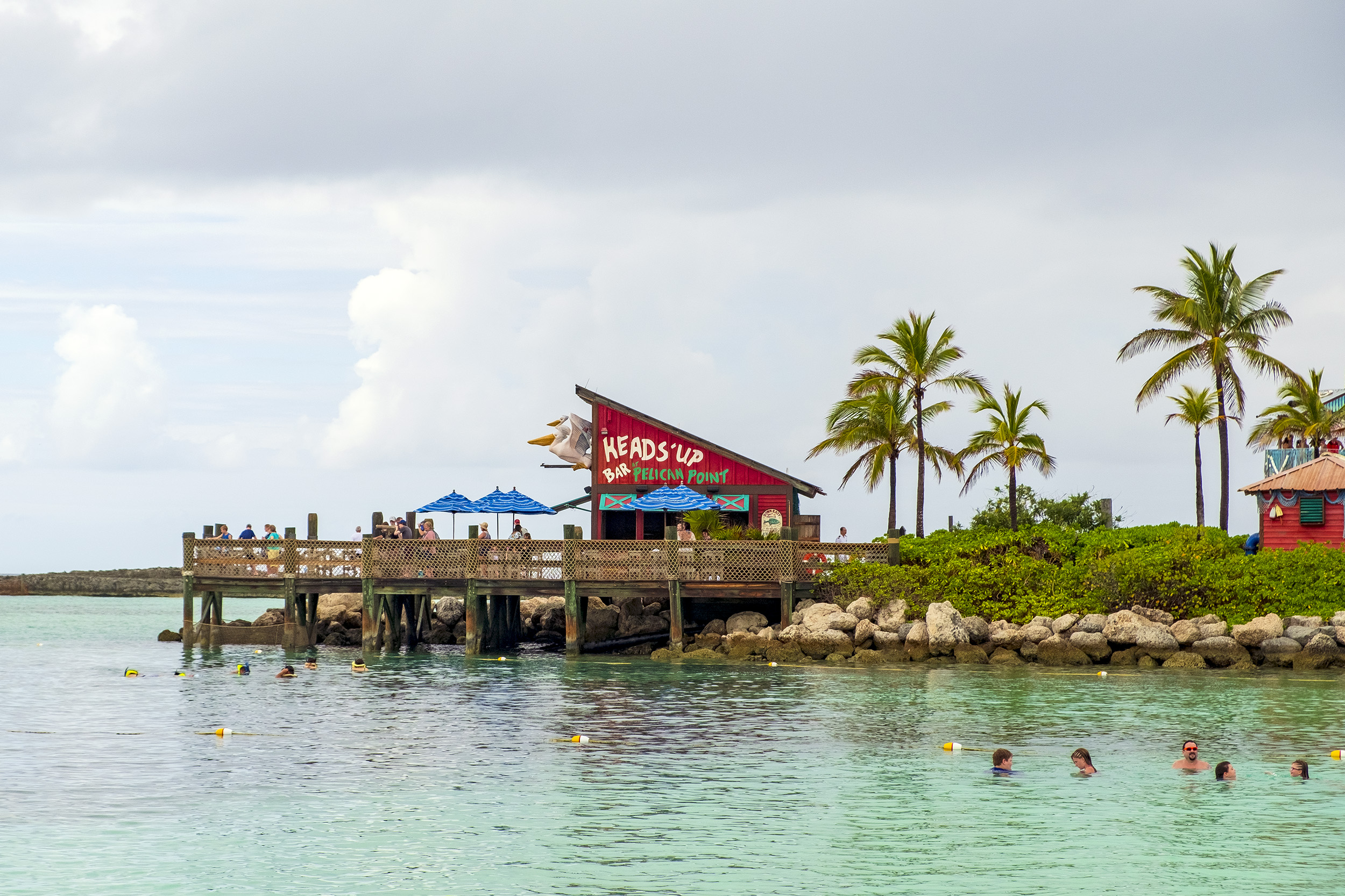 Castaway Cay Head's Up Bar.