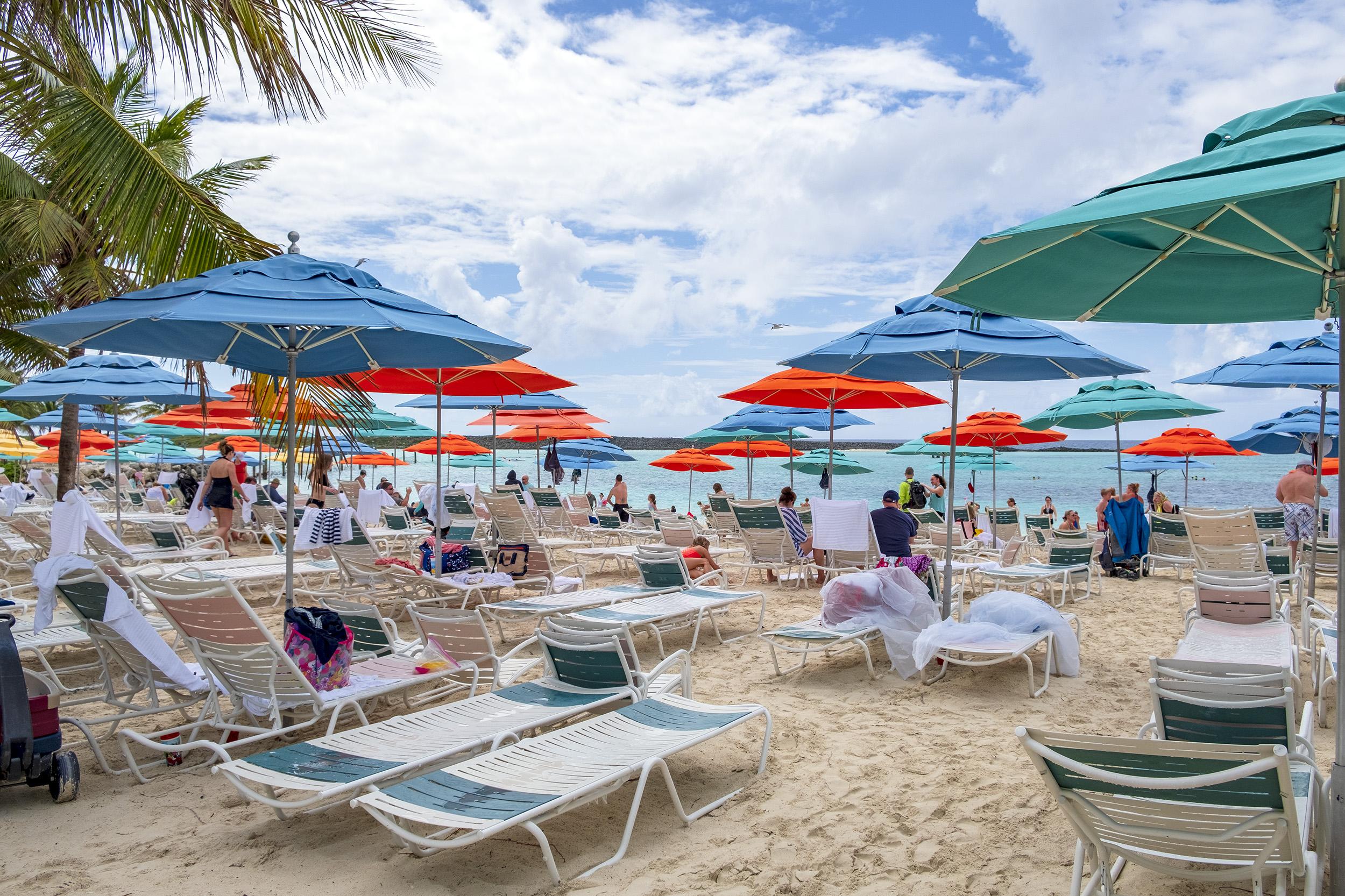 Castaway Cay beach