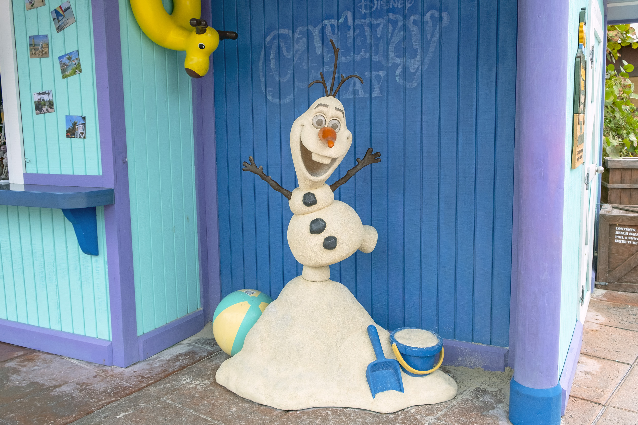 Castaway Cay Summertime Freeze Olaf