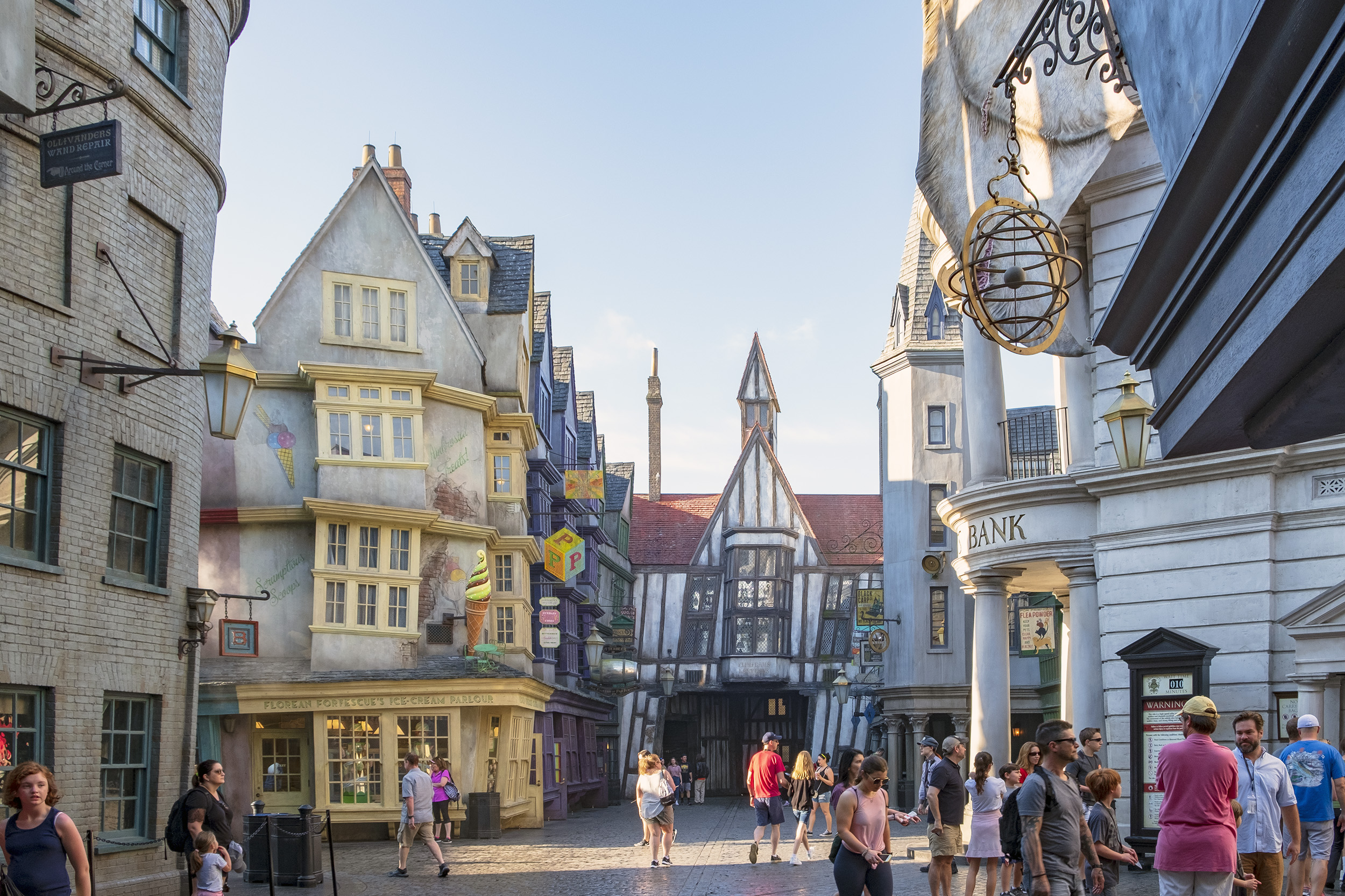 Diagon Alley. The Wizarding World of Harry Potter. Orlando.