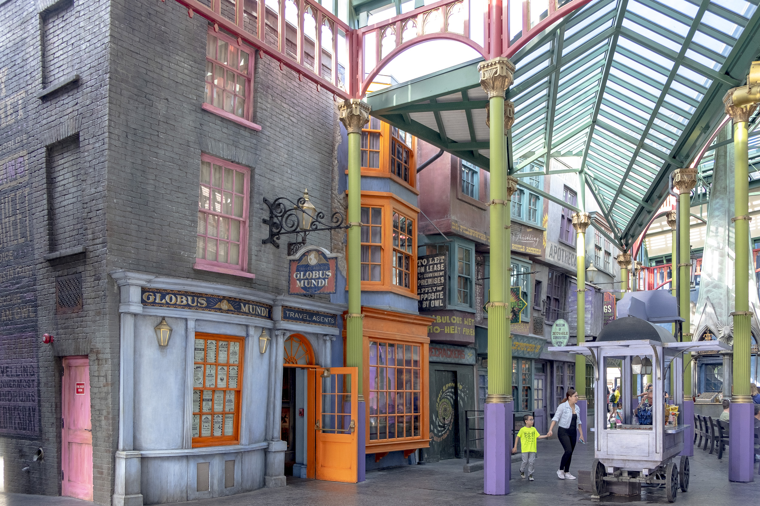 Diagon Alley. The wizarding world of harry potter.