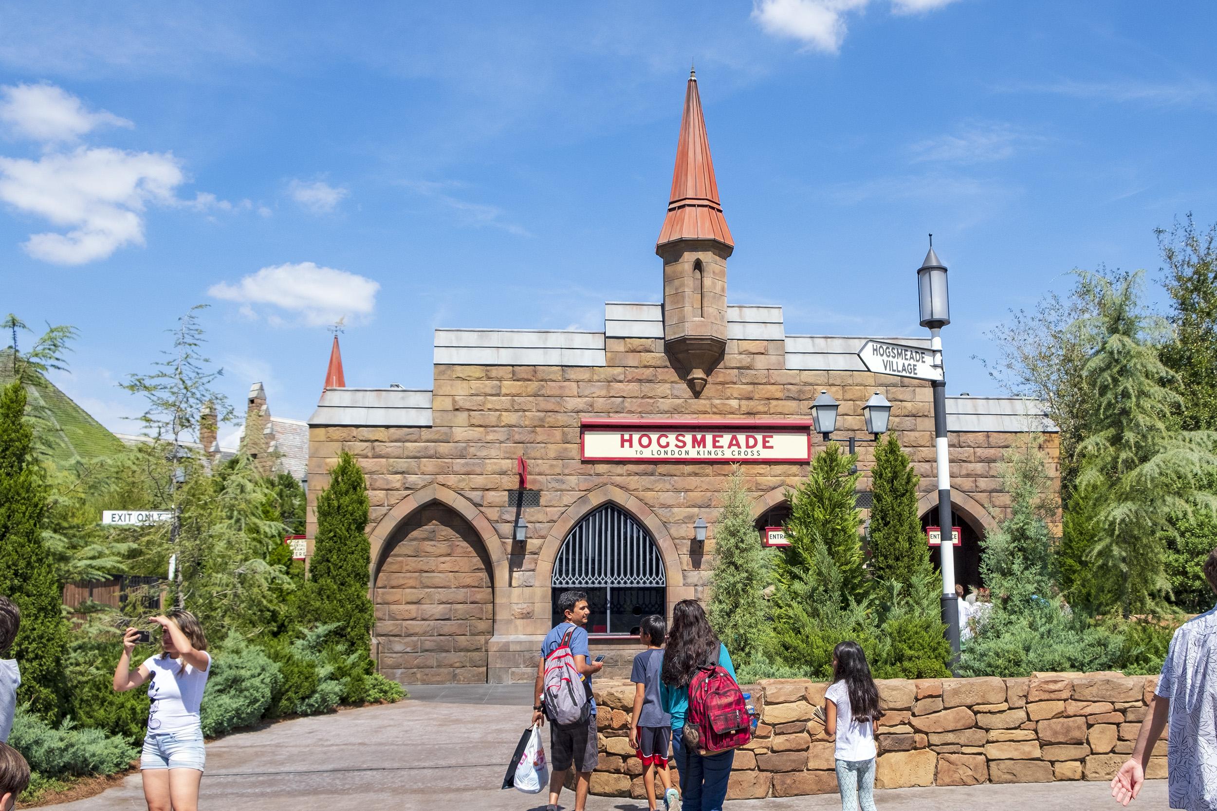 Hogsmeade Station Hogwarts The Wizarding World of Harry Potter Orlando