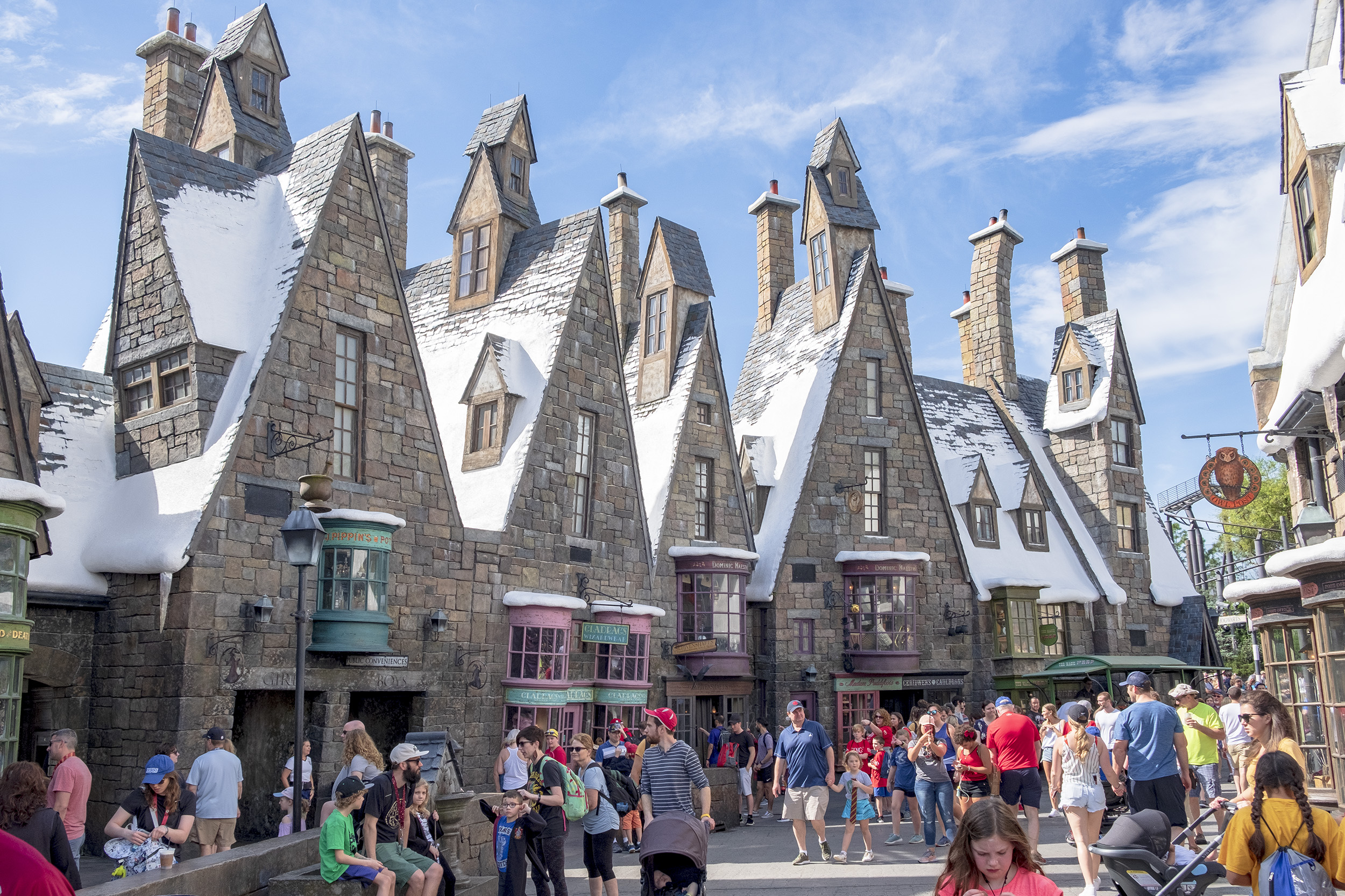 Hogsmeade Village. The wizarding world of harry potter.