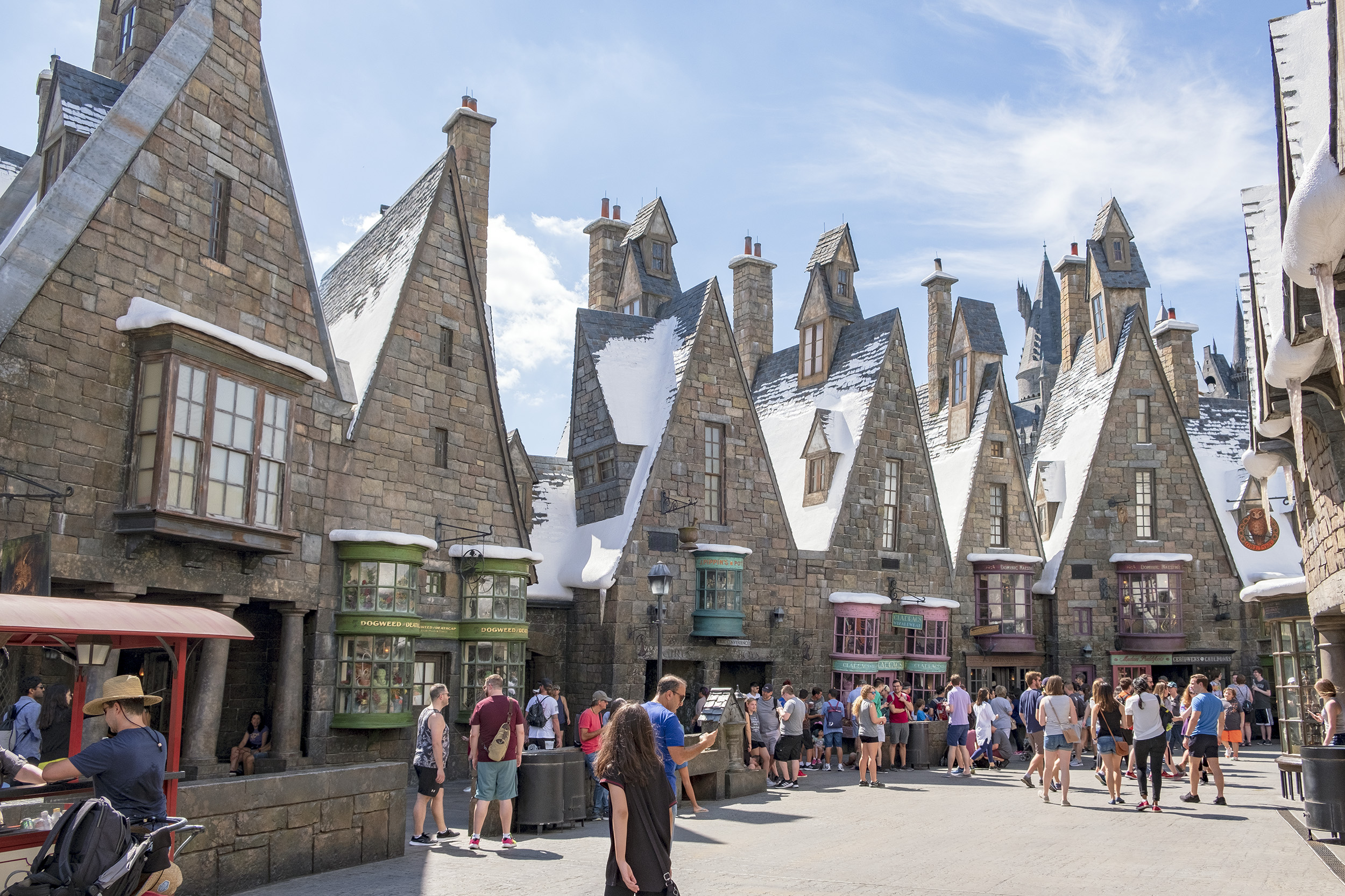 Hogsmeade Village. The Wizarding World of Harry Potter