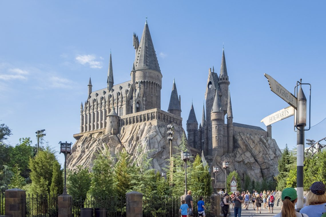Hogwarts Castle The Wizarding World of Harry Potter Orlando