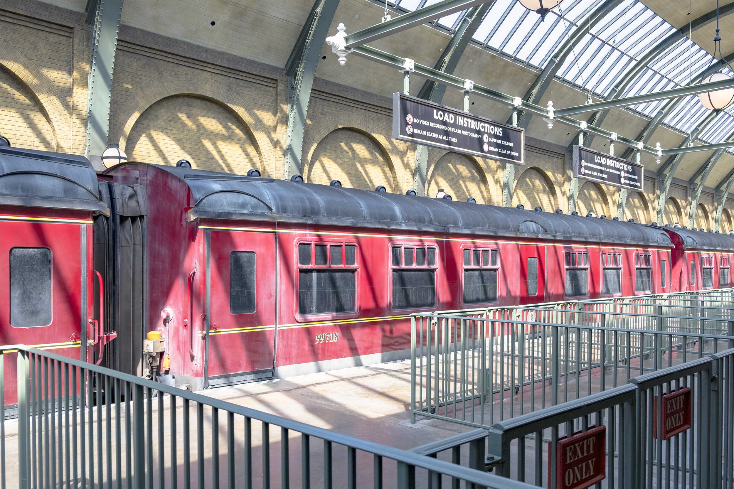 Hogwarts Express på Kings Cross Station Diagon Alley The Wizarding World of Harry Potter Orlando