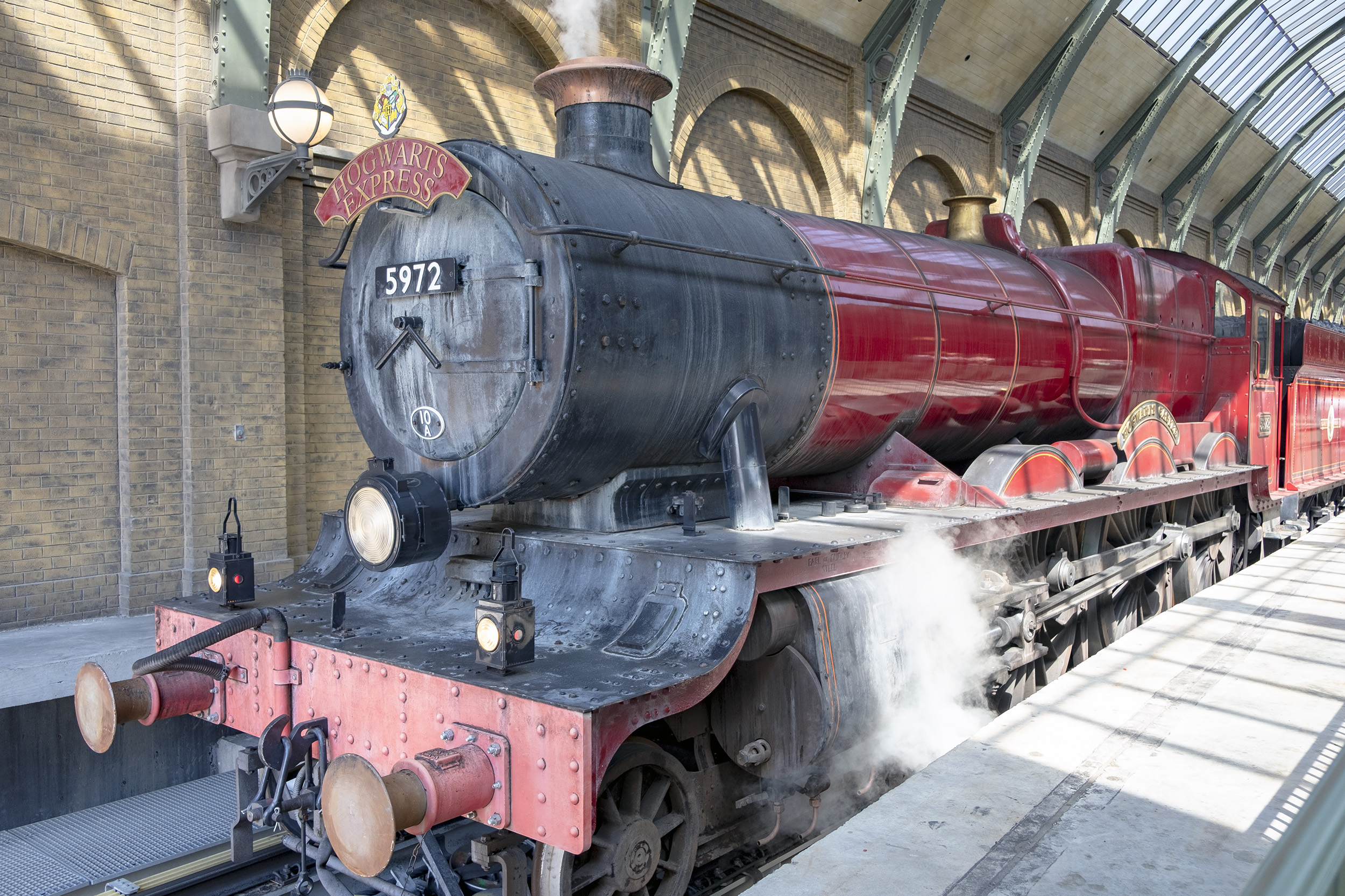 Hogwarts Express på Kings Cross Station Diagon Alley The Wizarding World of Harry Potter Orlando