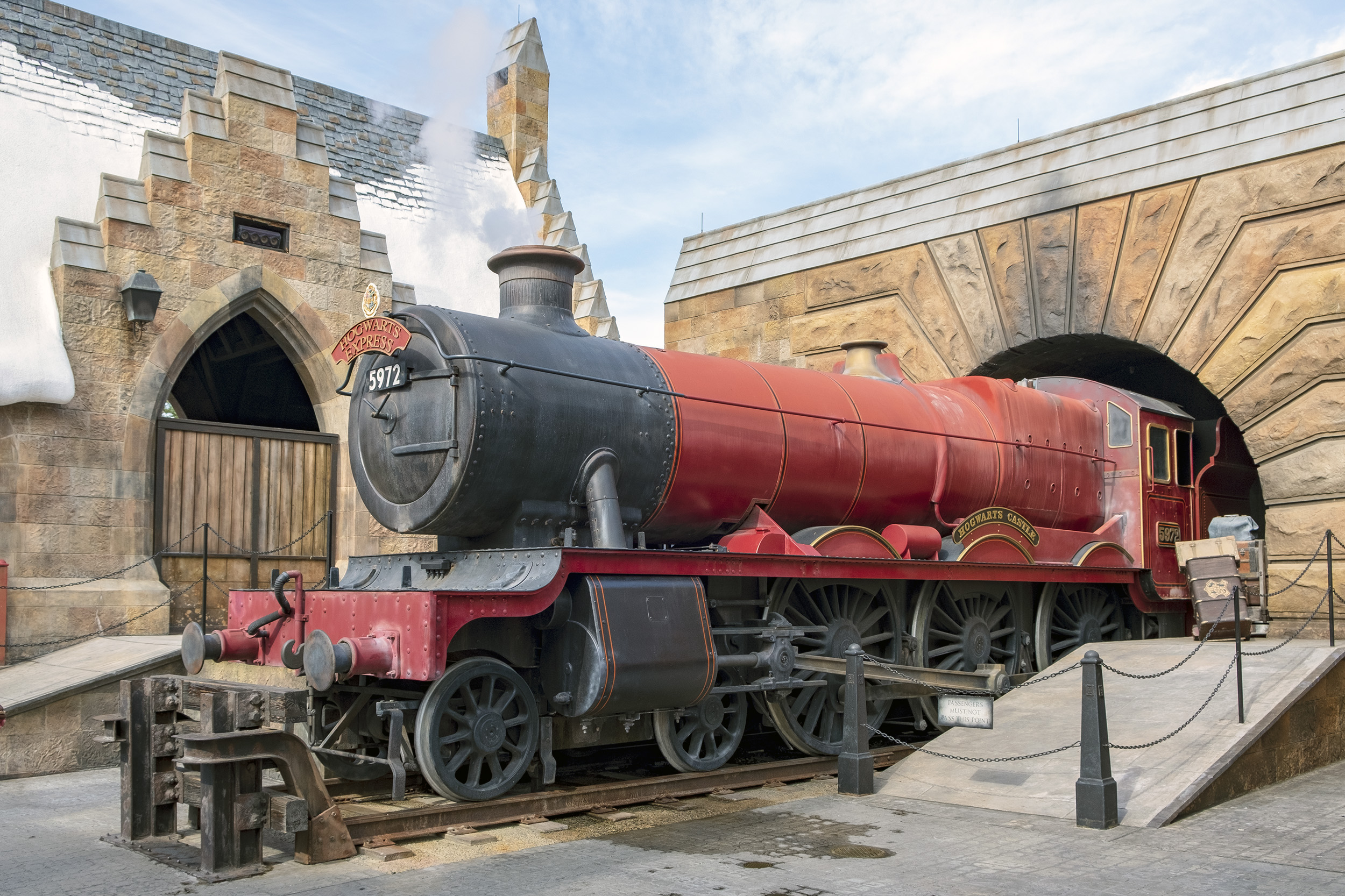 Hogwarts Express Hogsmeade Village The Wizarding World of Harry Potter Orlando