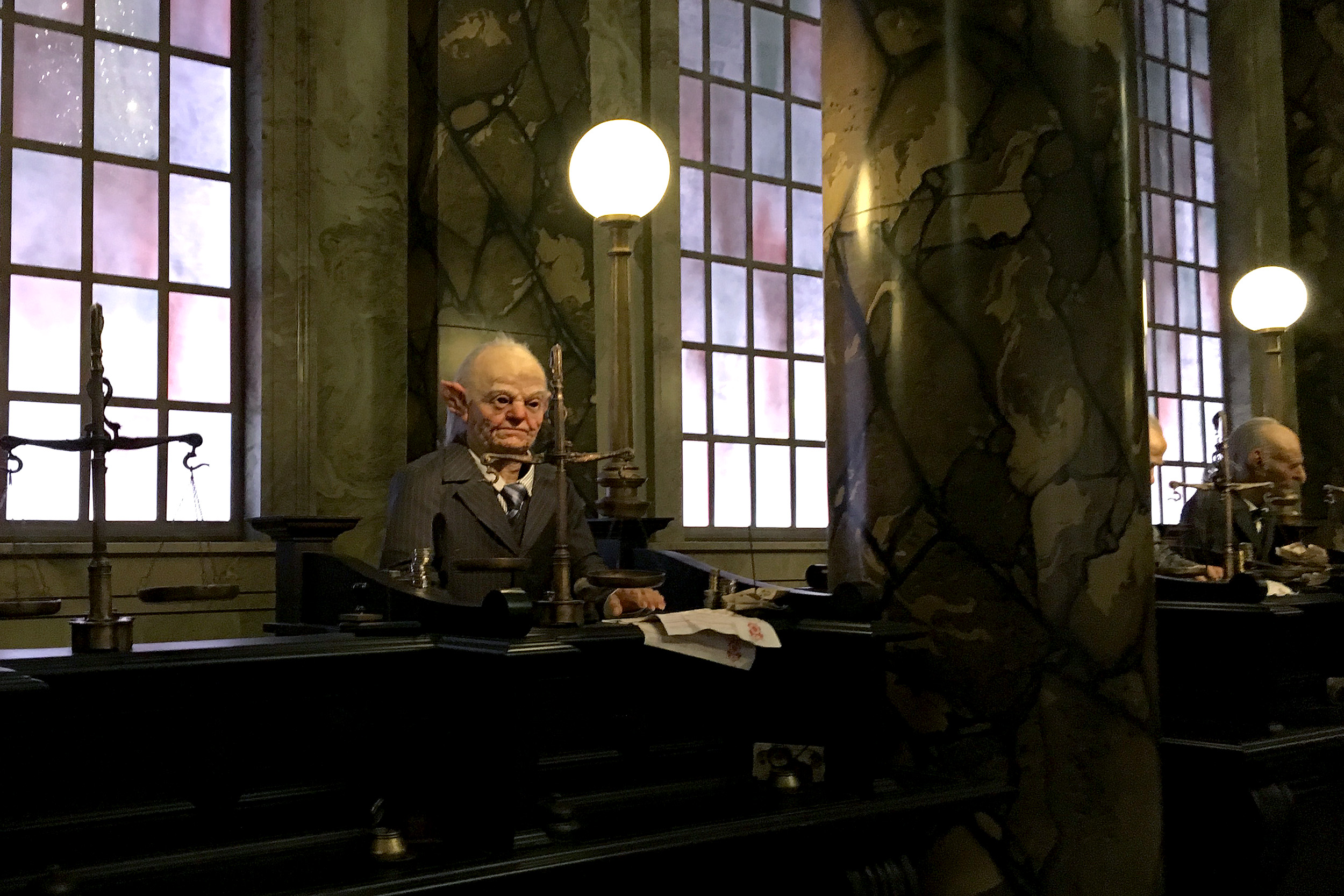 Goblin Escape from Gringotts. The wizarding world of harry potter.