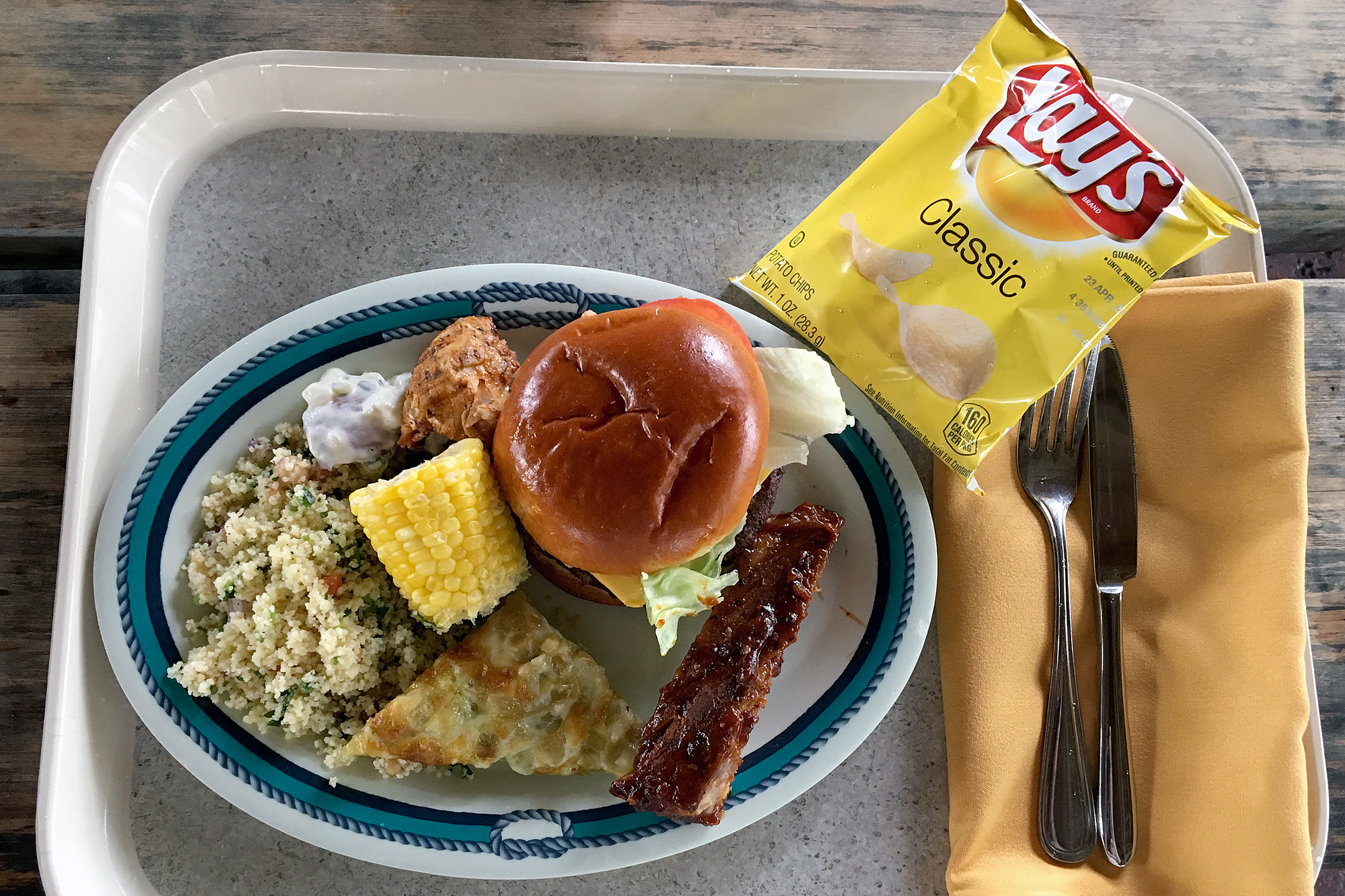 Castaway Cay Lunch Cookies BBQ