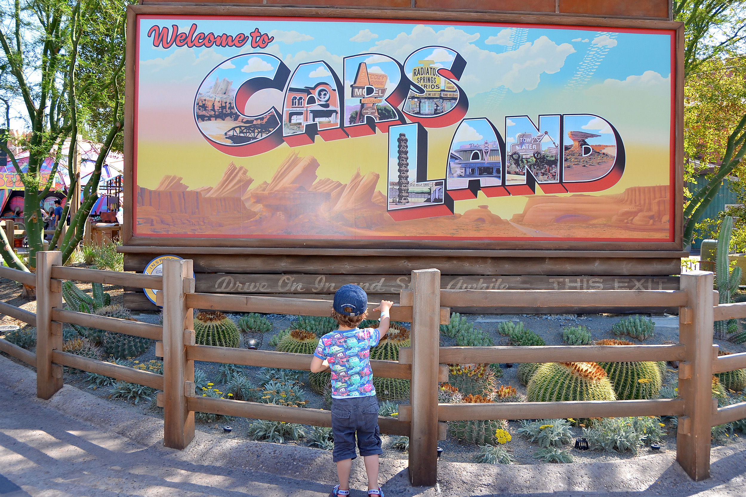 Cars Land California Adventure Disney