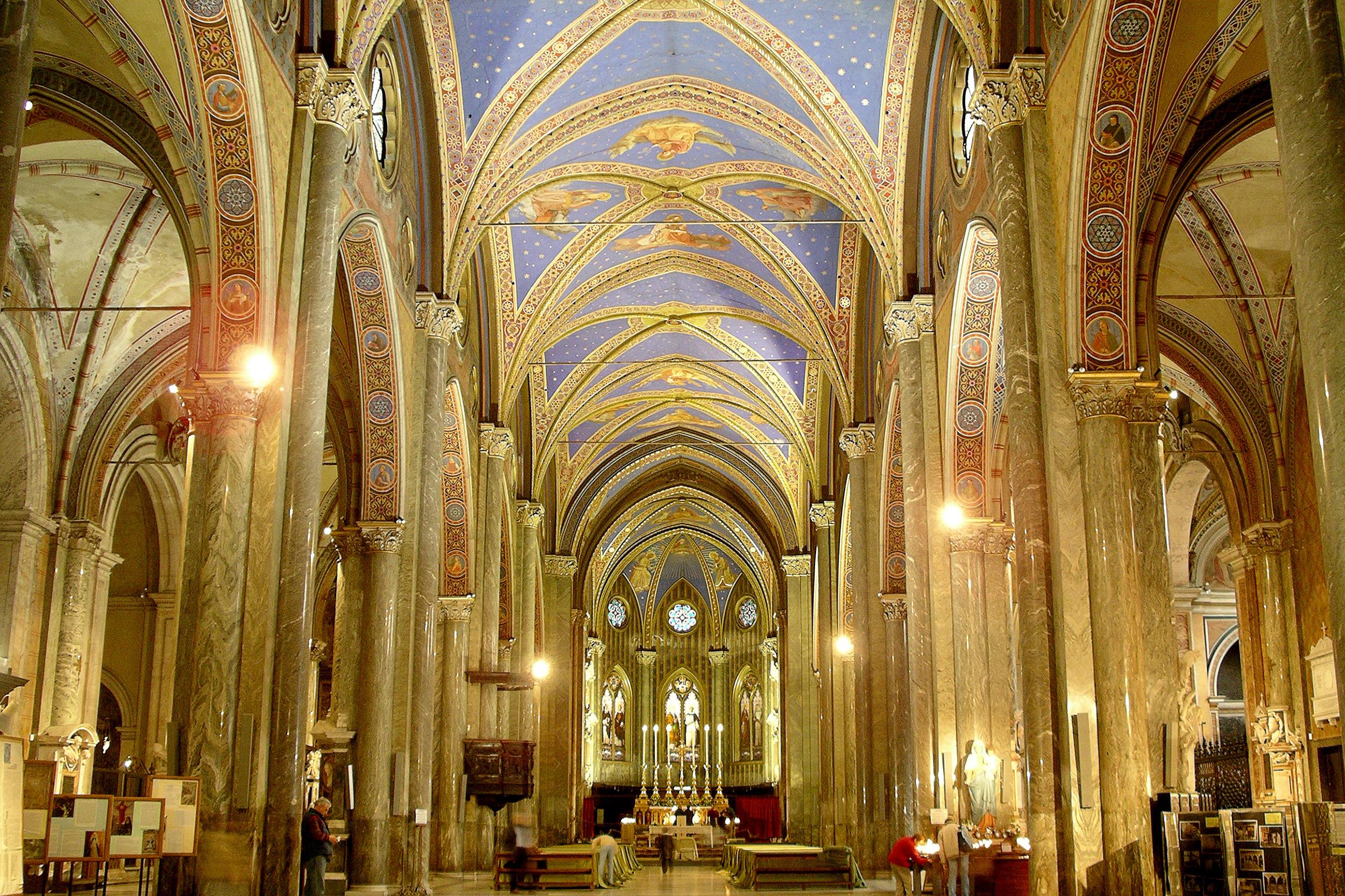 Santa Maria Sopra Minerva Weekend i Rom