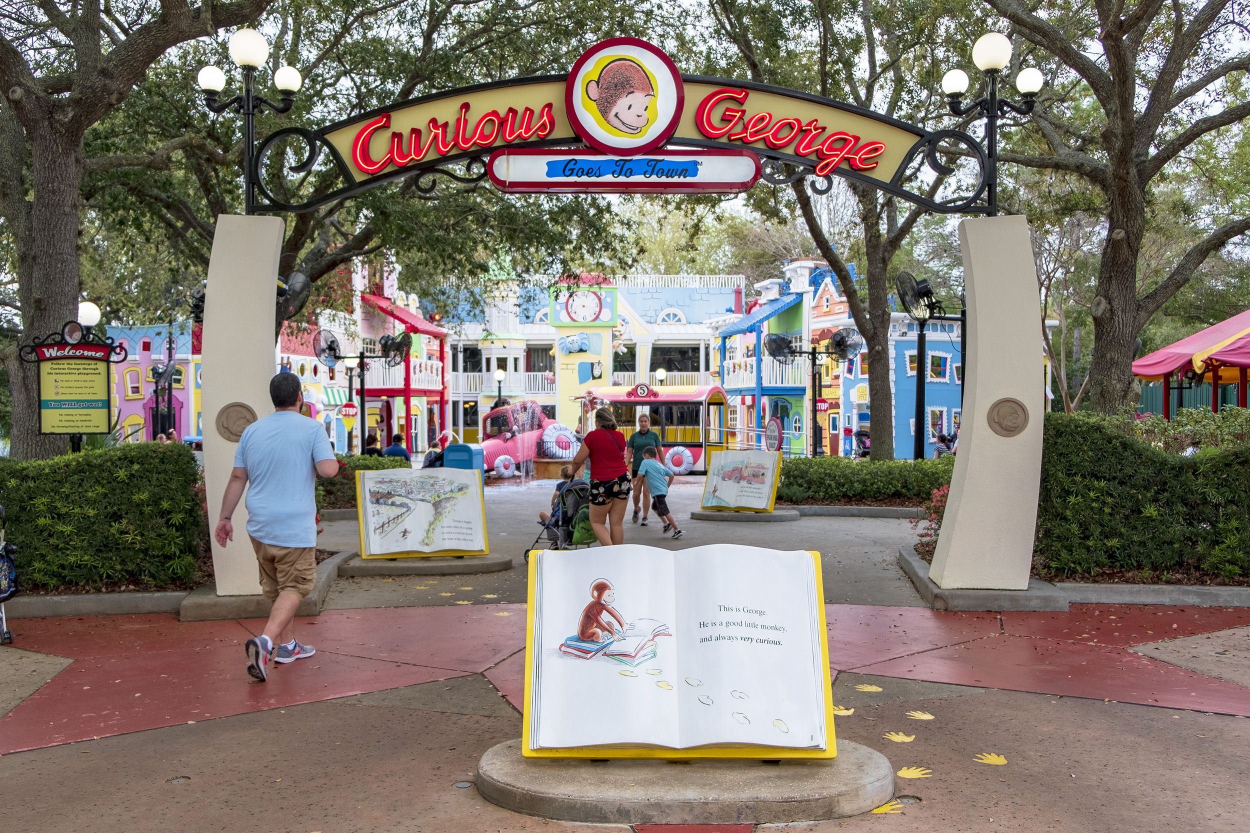 Curious George Goes To Town Universal Studios Florida