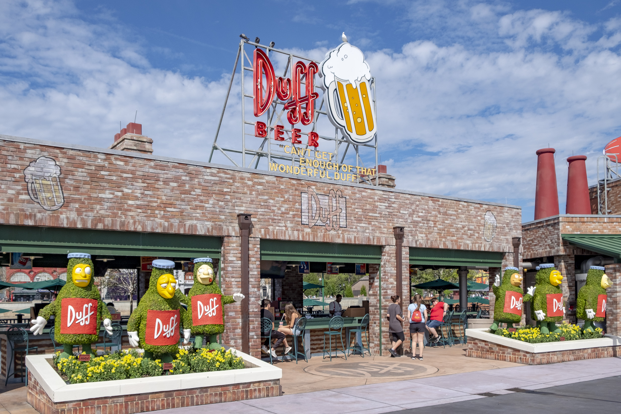 Duff Beer Simpsons Universal Studios Florida