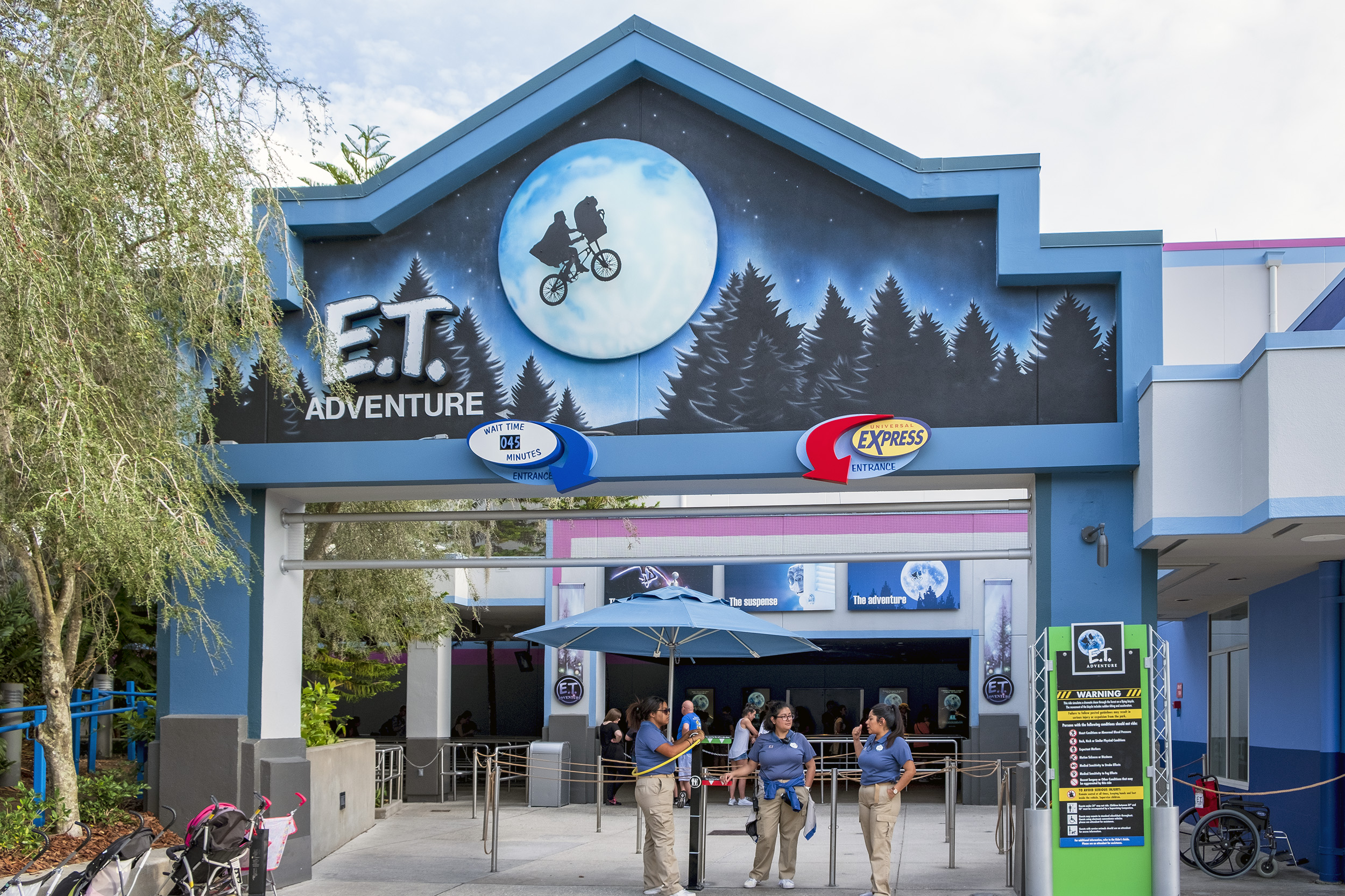 E.T. Adventure Universal Studios Florida Åkattraktioner